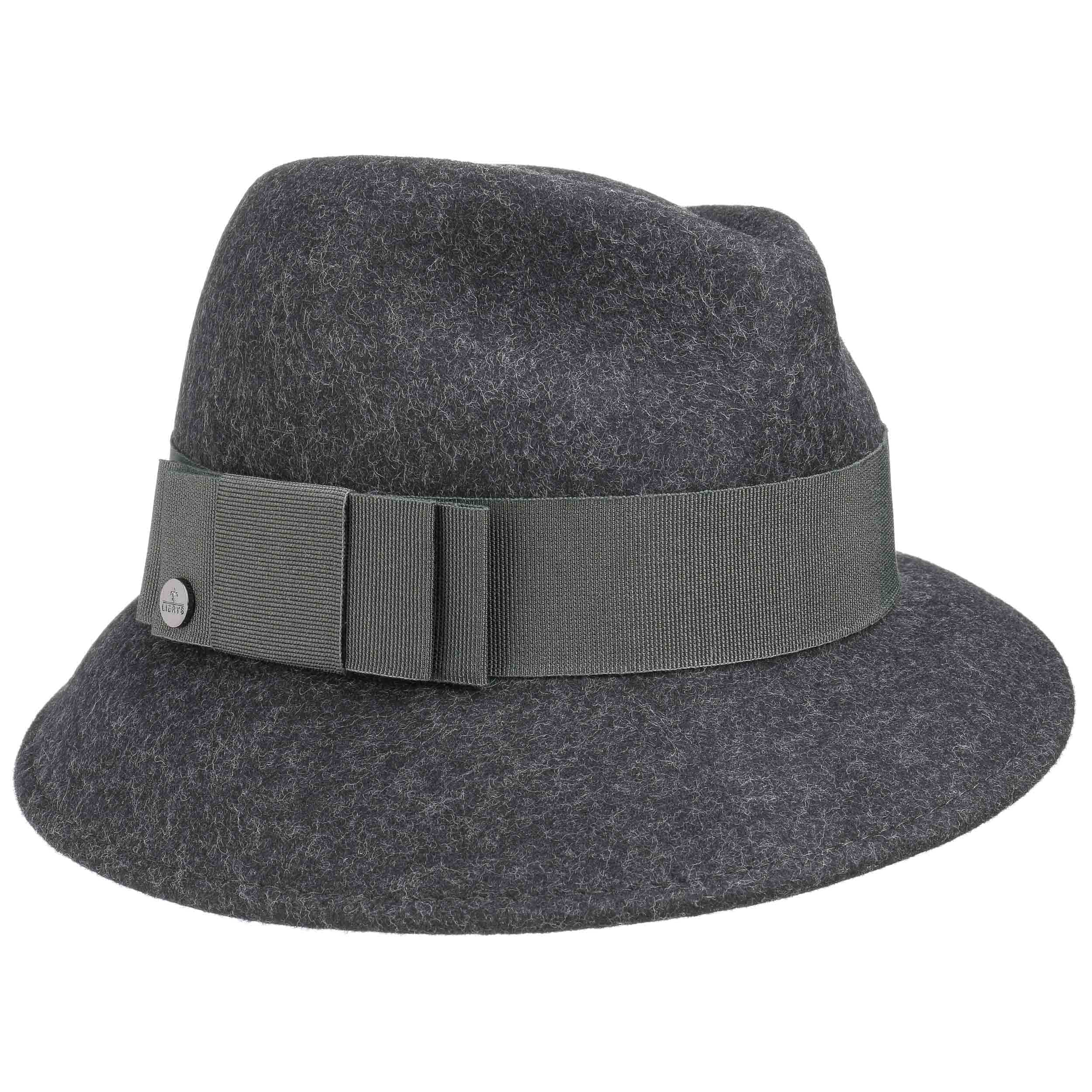 Asym Twotone Wool Felt Hat by Lierys Trilby hats Lierys FDyNjHBb
