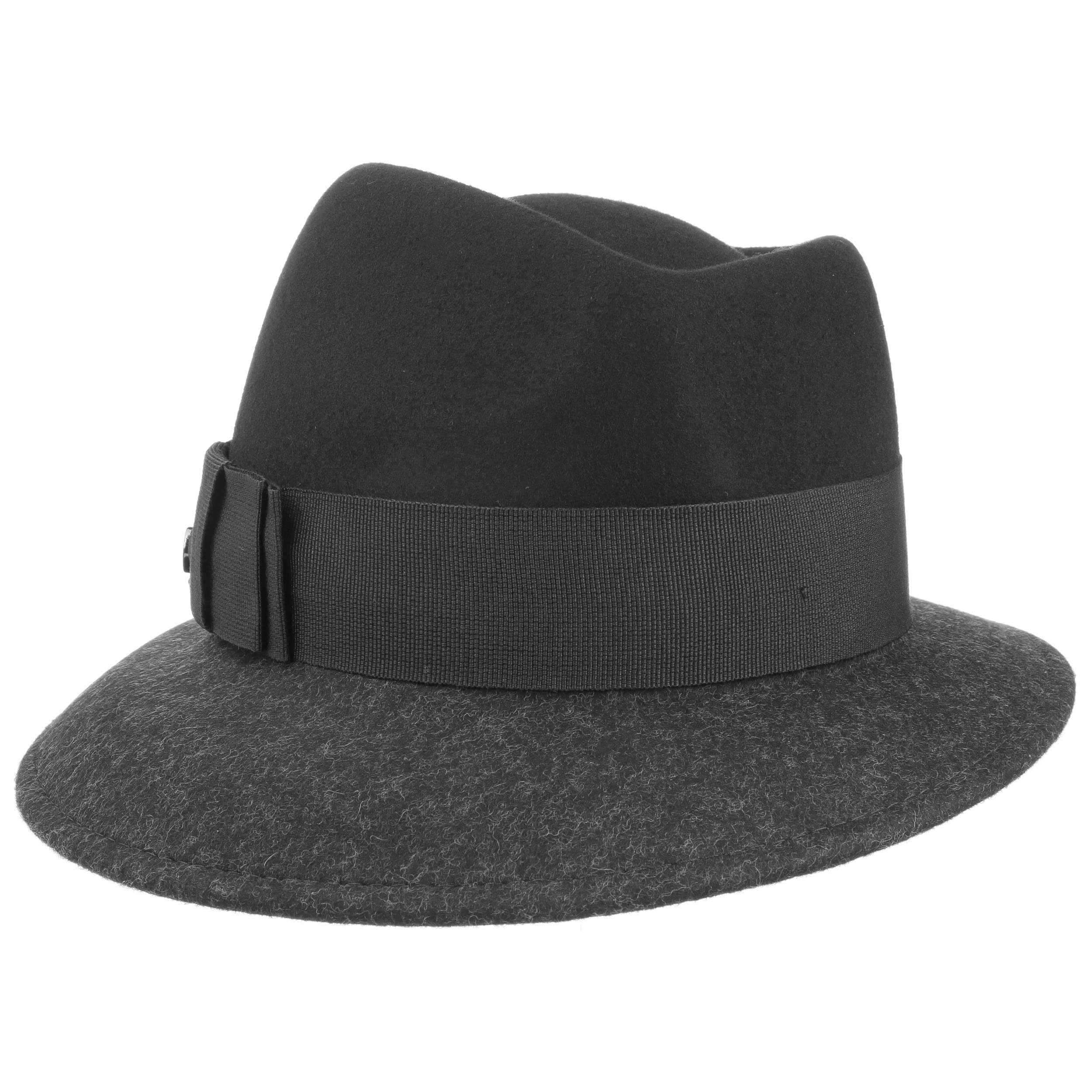 Top Hat Wool Felt Twotone by Lierys Classics Lierys Free Shipping 2018 New Best Sale Online Outlet Cheapest Price Cheap From China cOno3