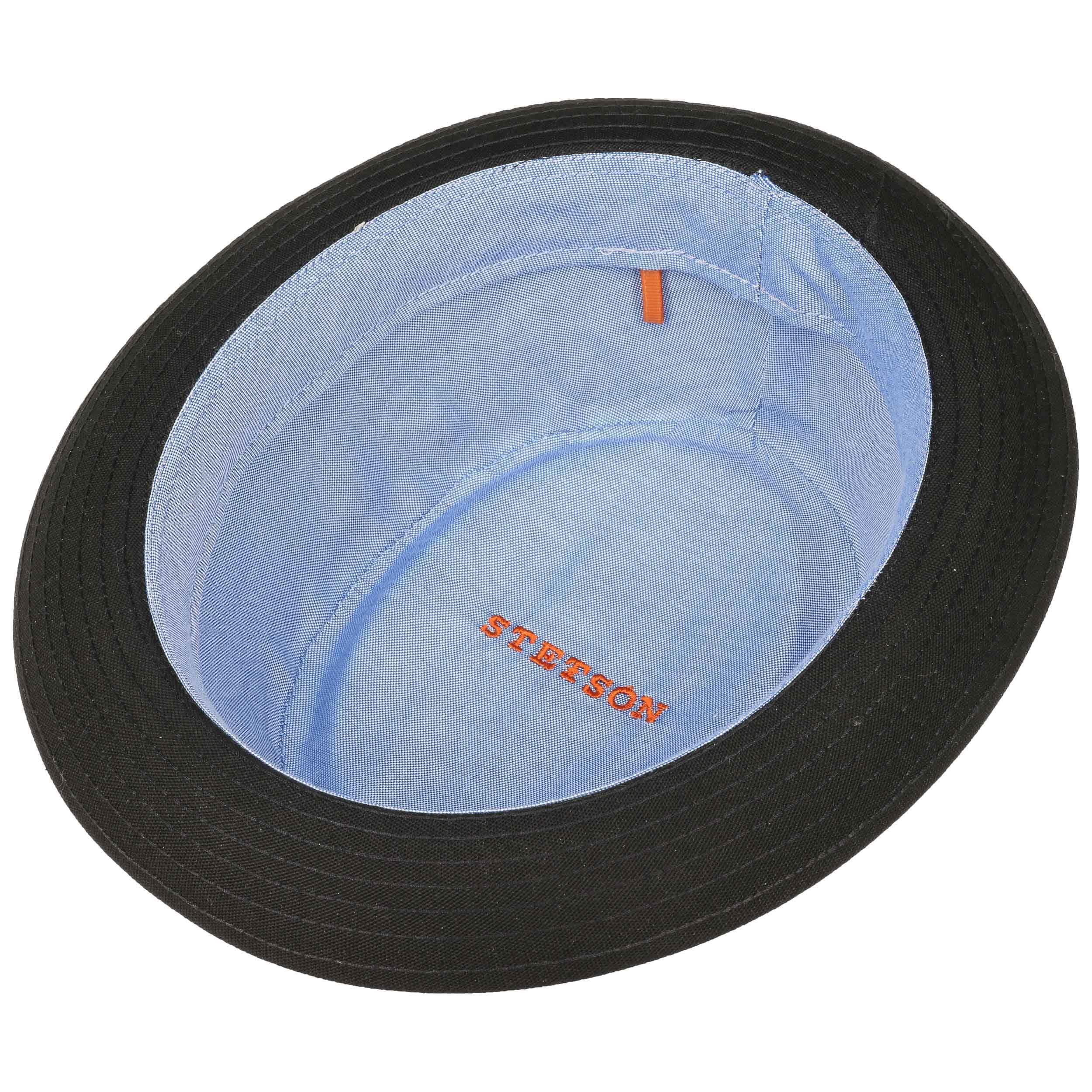 ... Athens Cotton Pork Pie Hat by Stetson - black 2 ... e6882af0ec2