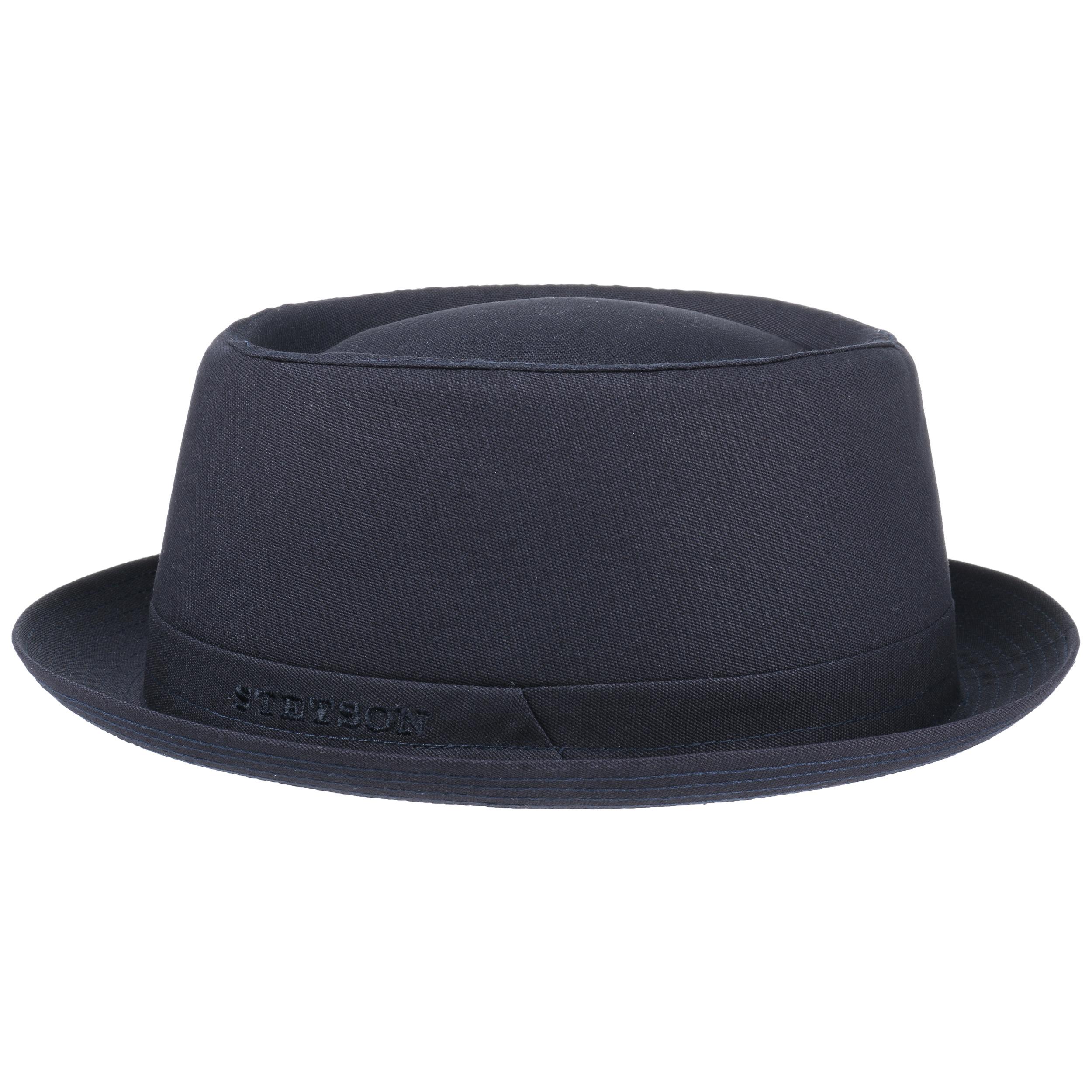 athens cotton pork pie hat by stetson eur 59 00 hats caps beanies shop online. Black Bedroom Furniture Sets. Home Design Ideas