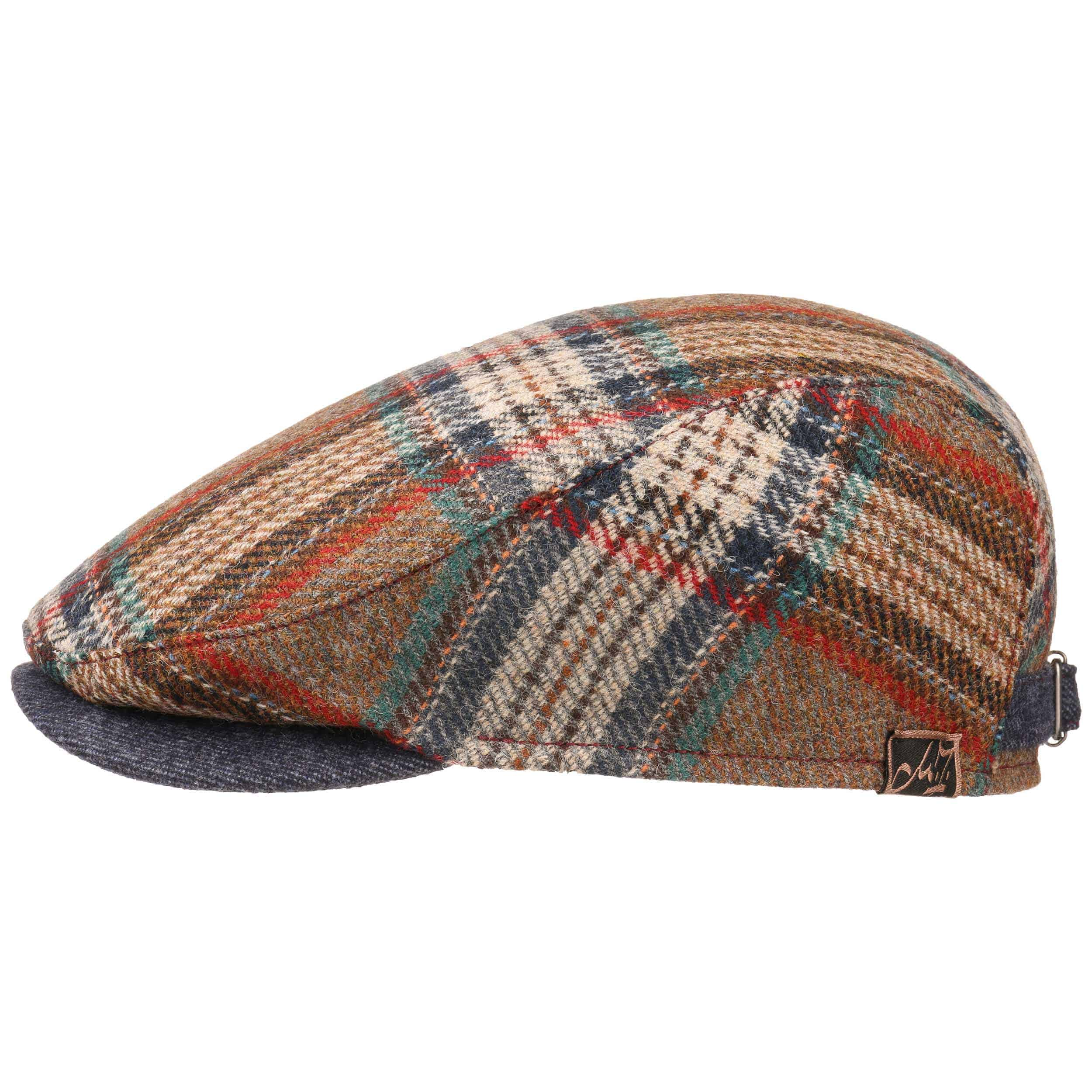 3059bcf53 Aurel Virgin Wool Flat Cap by Mayser