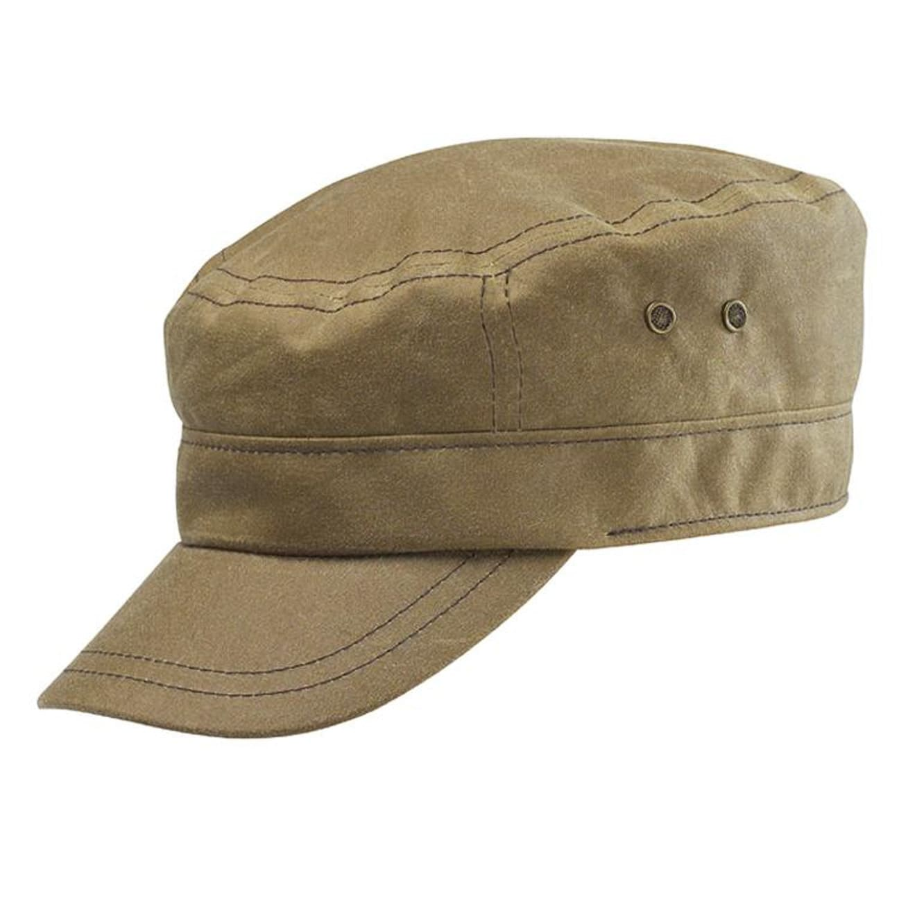 ... Austin Waxed Cotton Army Cap by Stetson - 1 ... c8ea7f1b20b