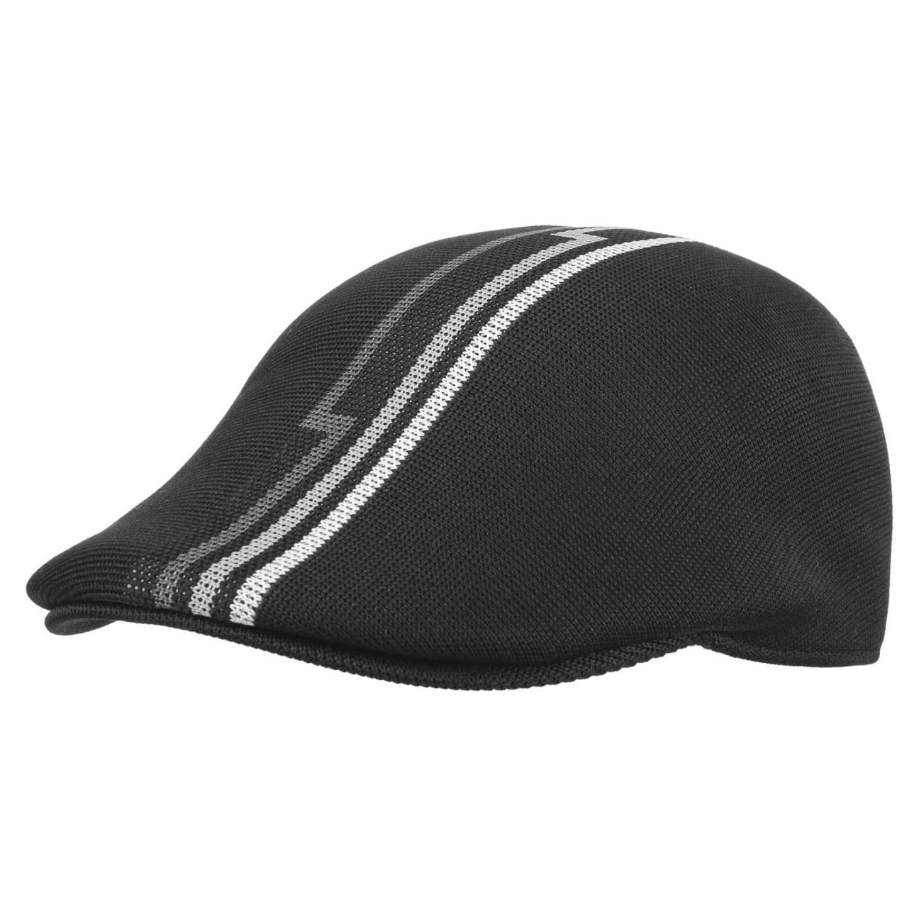 ... Aztec Stripe Flat Cap 507 by Kangol - black 1 ... 75f1ce247b5