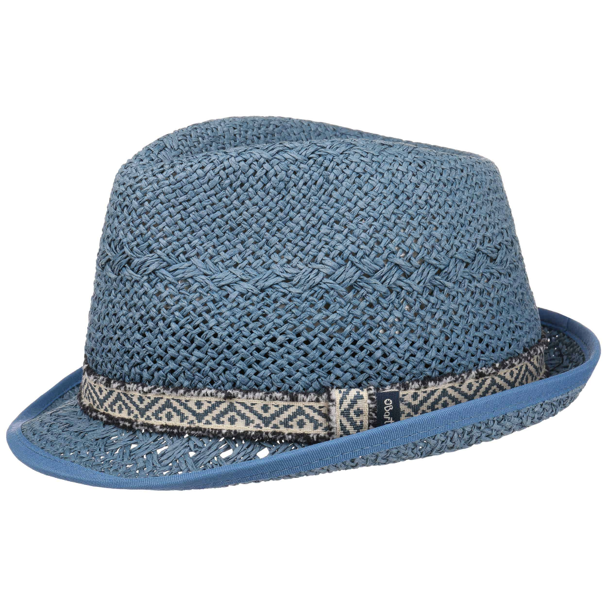 cb2447f73ca ... Baboon Kids Trilby Hat by Barts - blue 4 ...
