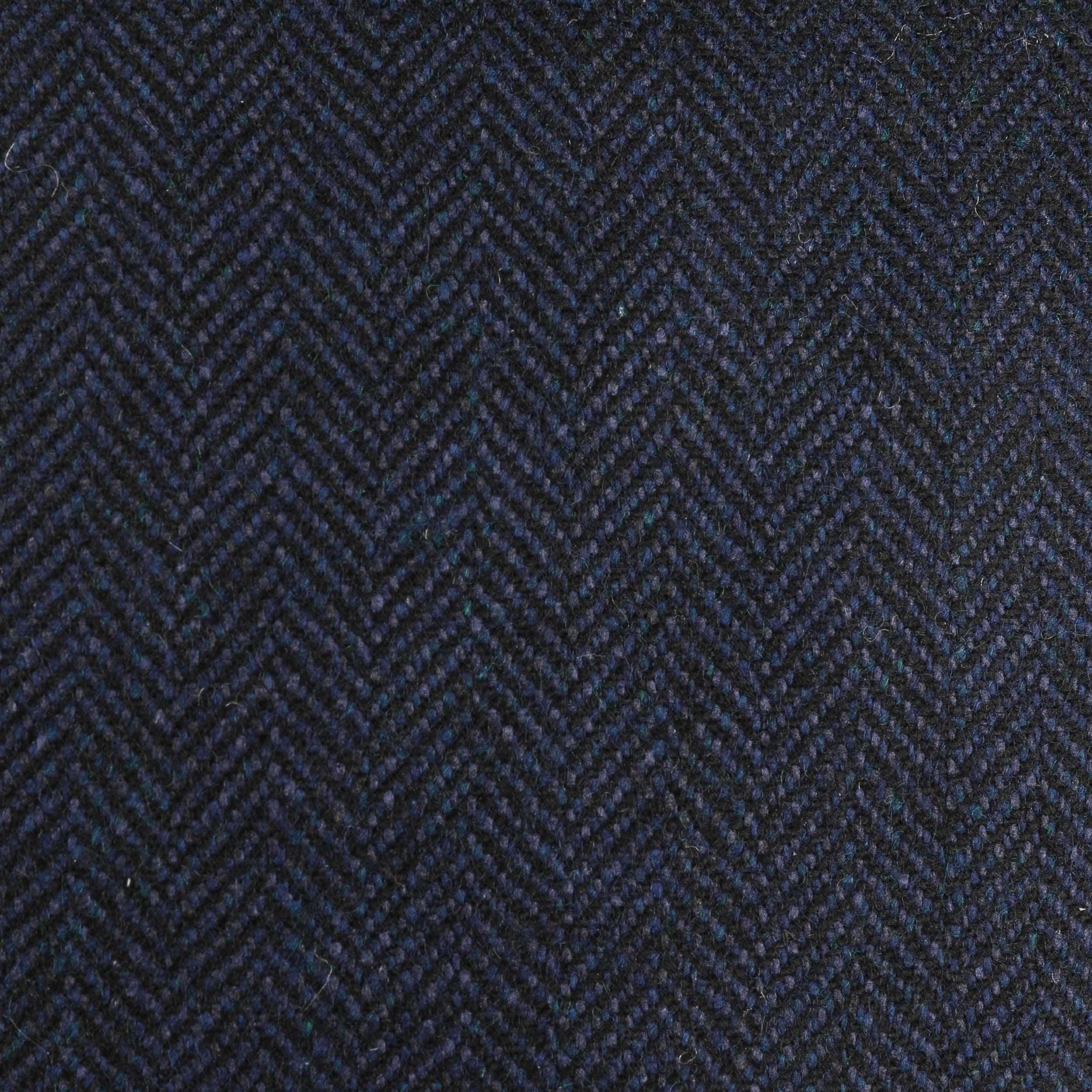 ... Bandera Herringbone Flat Cap by Stetson - navy 4 ... 19bd4bb4e434