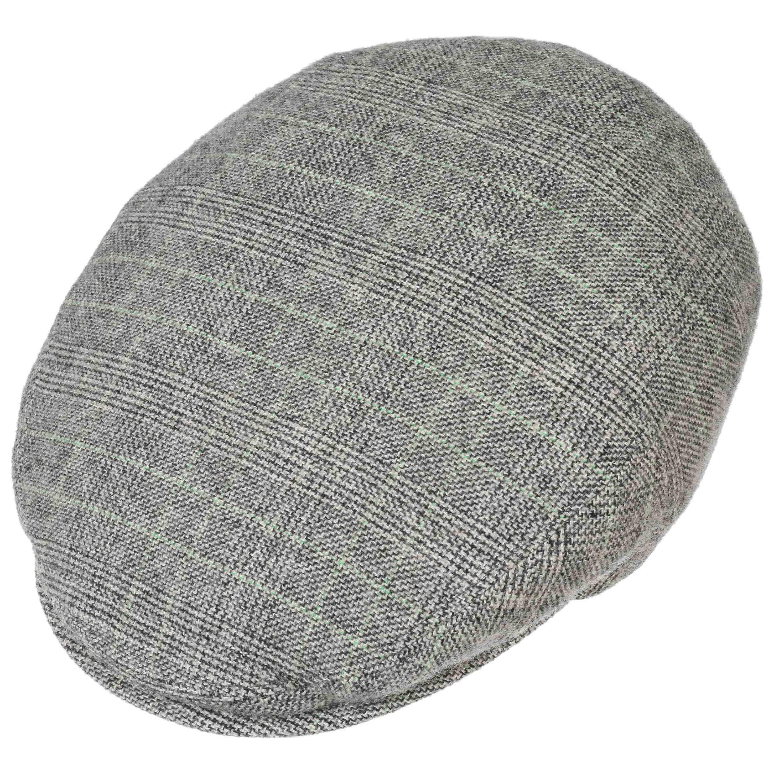 Bangor Cashmere Silk Flat Cap by Stetson - grey 1 ... ce22922d2f24