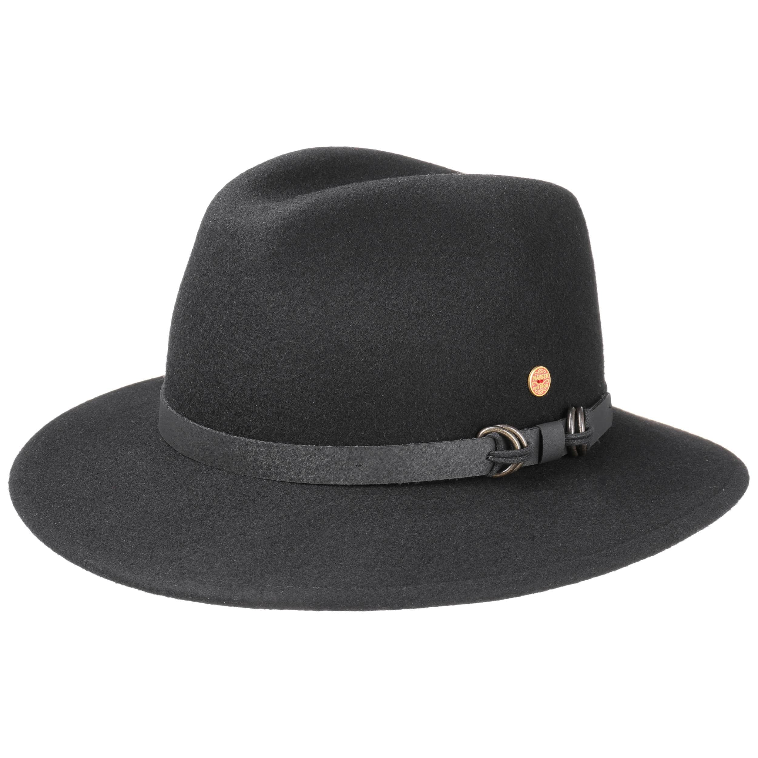 367532d8573 ... buy baron georgia outdoor hat by mayser black 4 84687 4604d