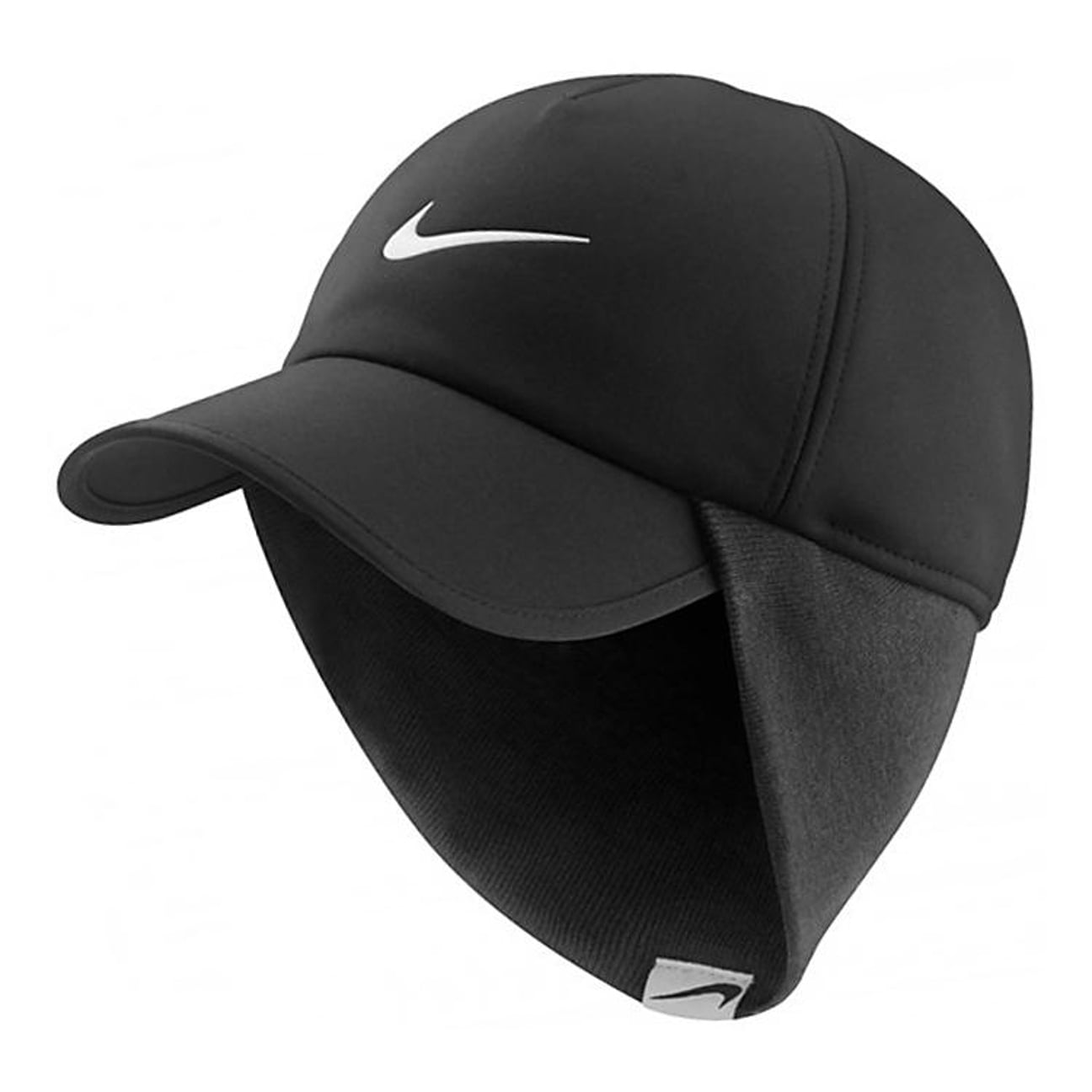 Baseball Cap with Earflaps by Nike - black 1 011321ae7e4