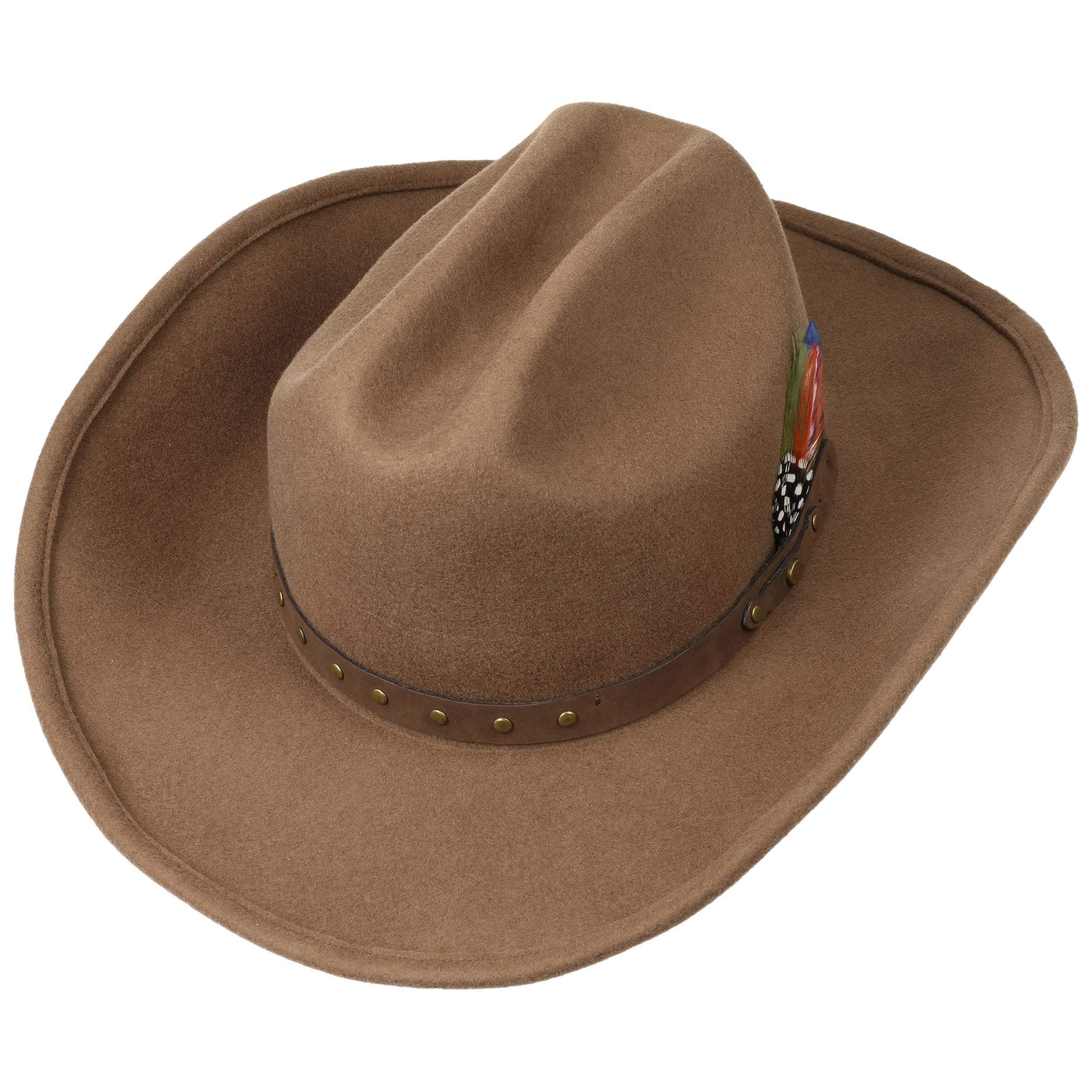 ... Batson Cattleman Western Hat by Stetson - dark beige 1 ... 873bb70b464