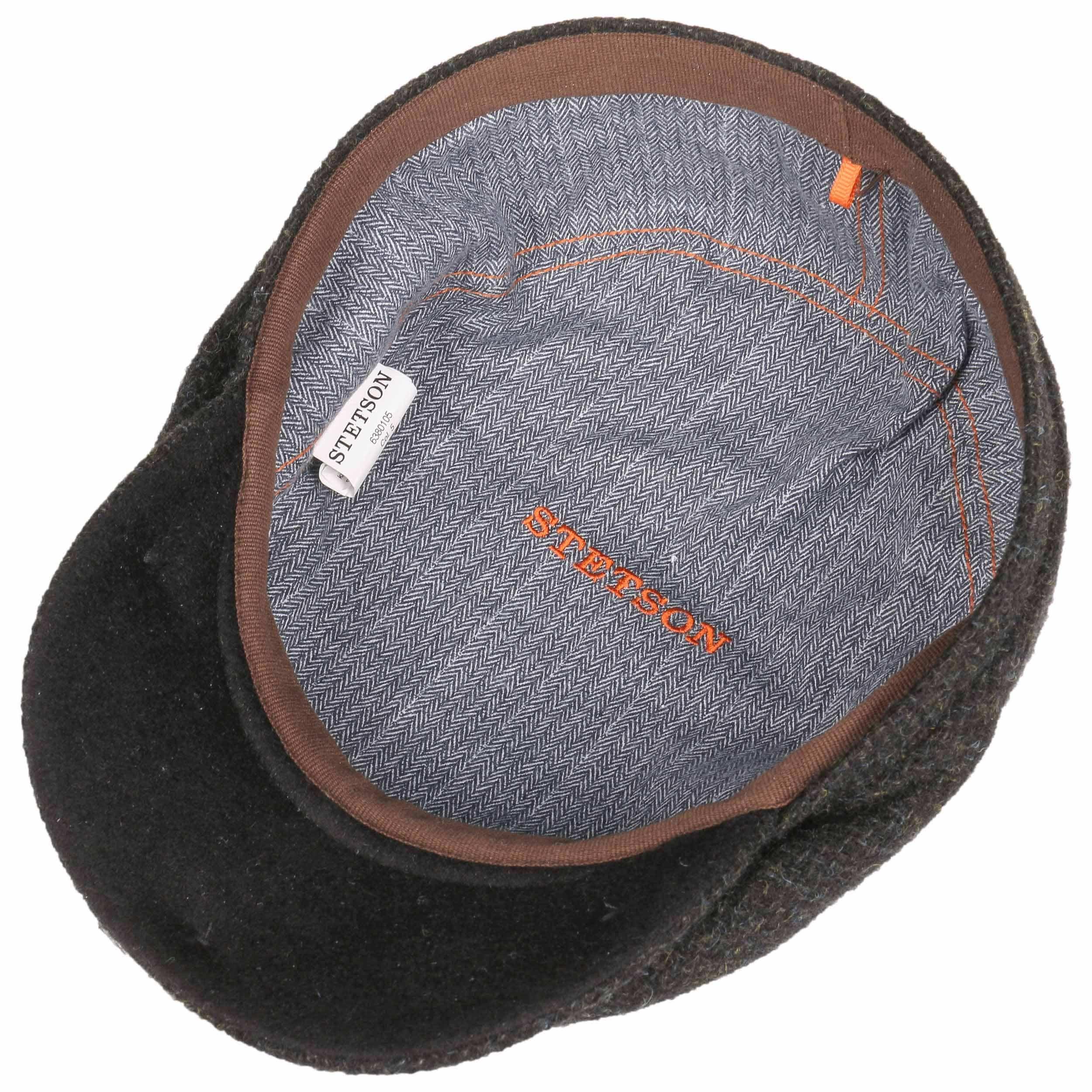 ... Belfast Tweed Flatcap by Stetson - schwarz 2 ... 00e8dbfb7e13