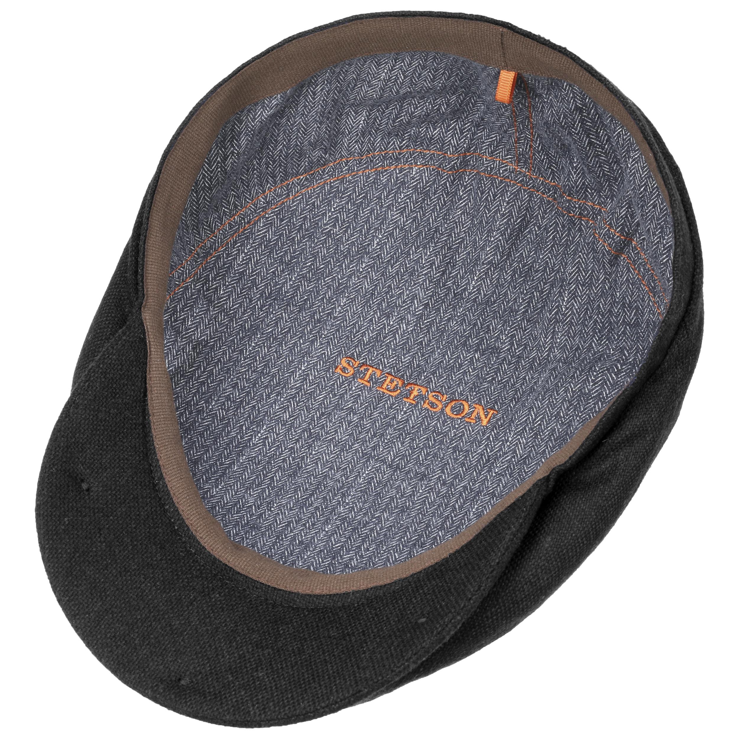 ... Belfast Wool Blend Flatcap by Stetson - schwarz 2 ... 20e9060286e