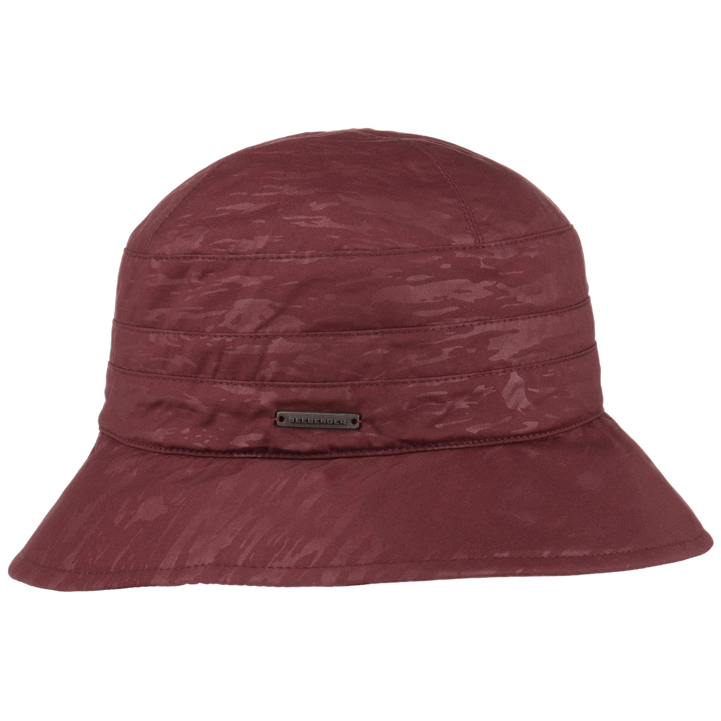 ... Bell Shaped Cloche Rain Hat by Seeberger - bordeaux 5 ... acb1307f2dd