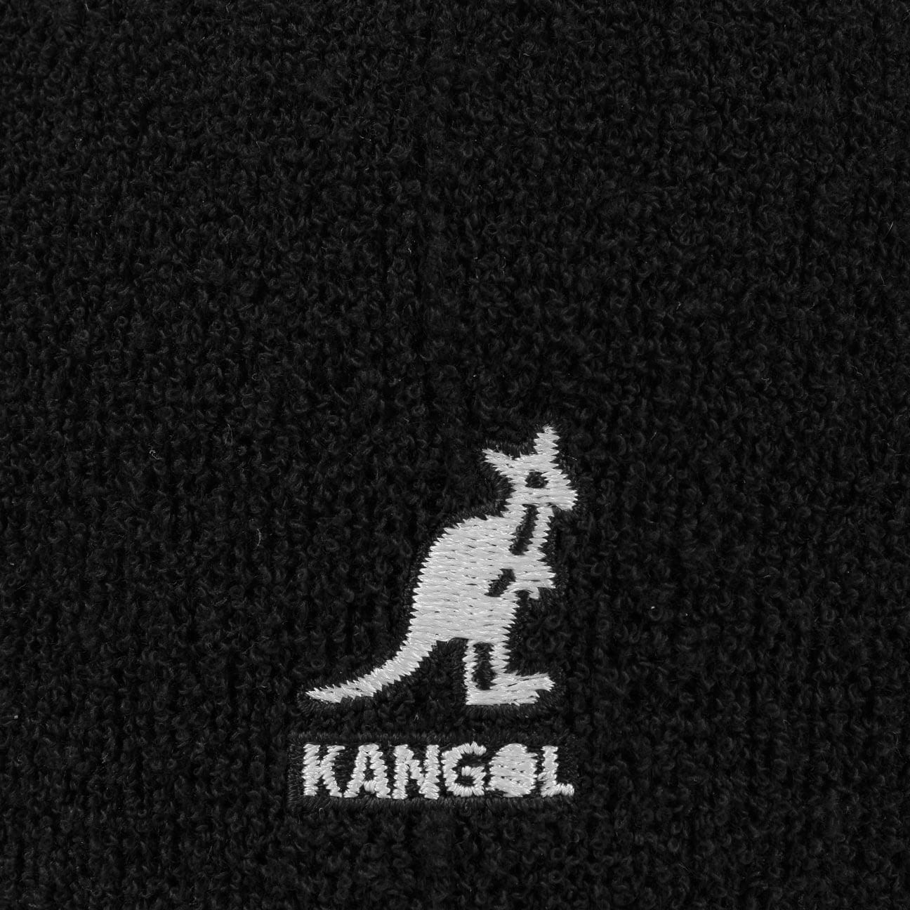 4b50cf6bf00 ... Bermuda 504 Flat Cap by Kangol - black 5 ...
