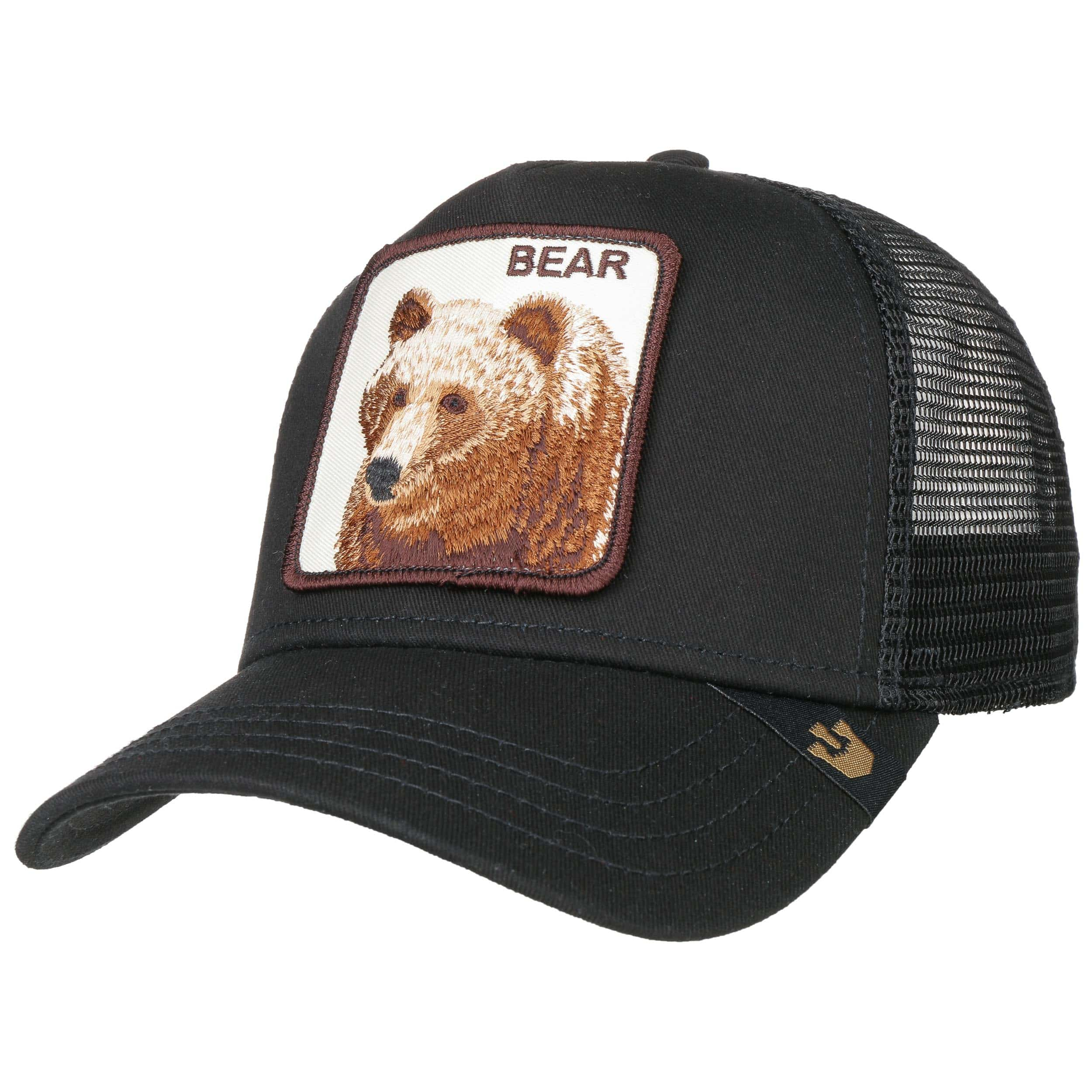 7db3e0ff black 5 · Big Bear Trucker Cap by Goorin Bros. - black 6