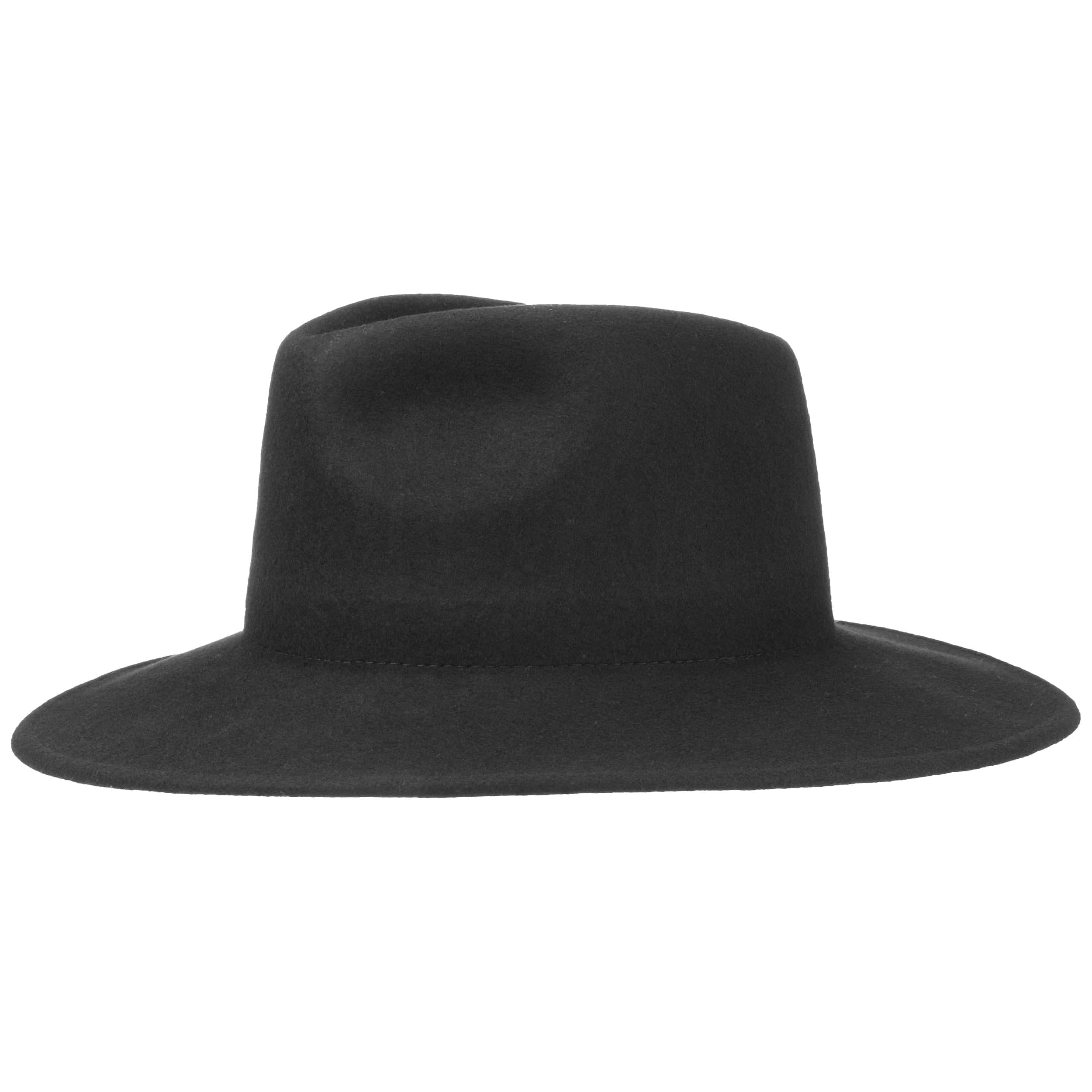84eb74e0aa069 ... Big Brim Fedora Felt Hat by Levi´s - black 4