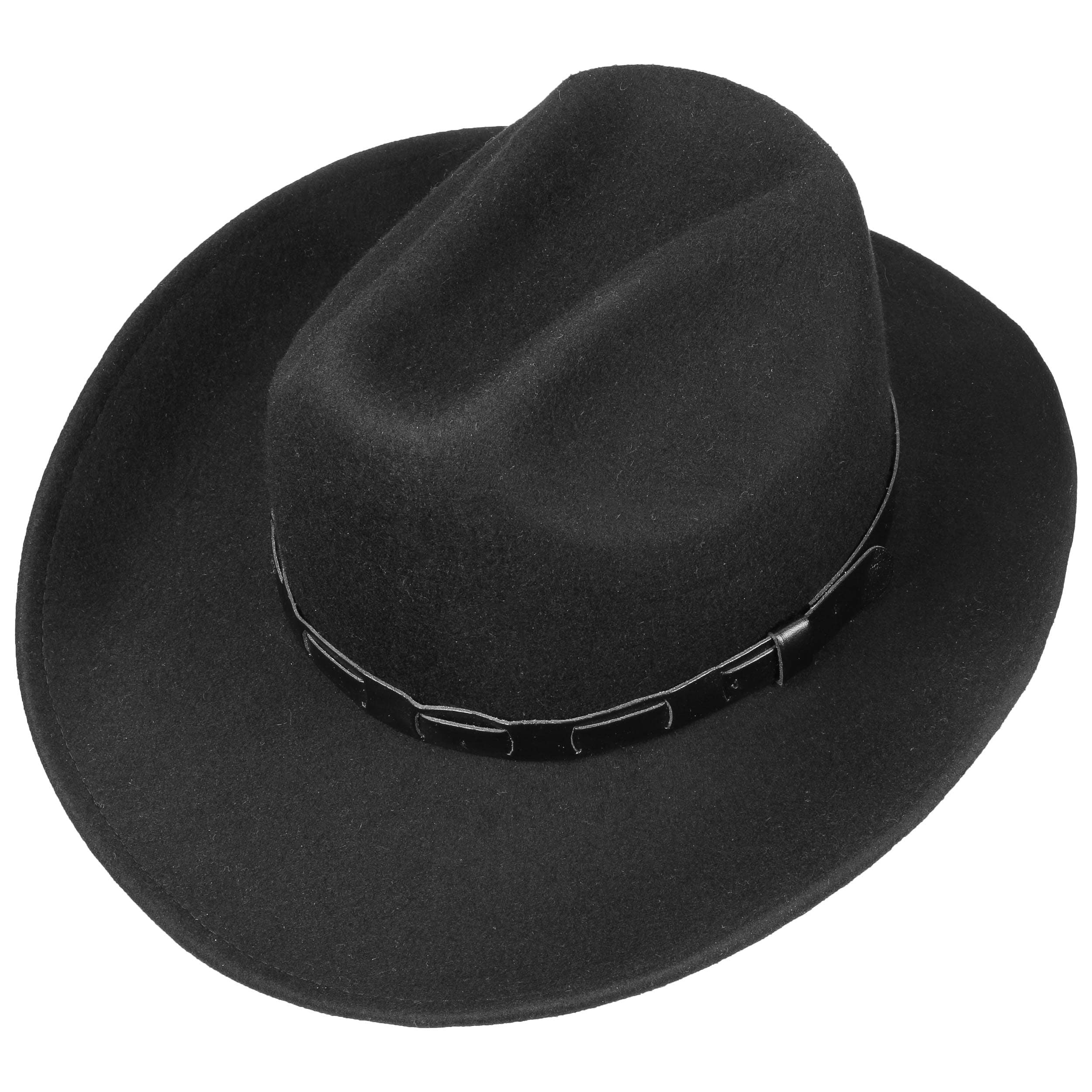 f16850e3295 Bill Cody Western Hat by Lipodo - black 1 ...