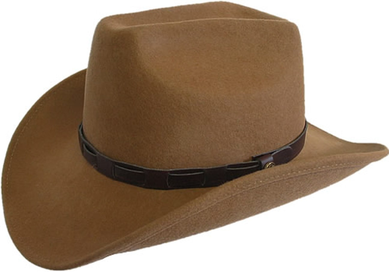89697d3b2a6 ... Bill Cody Western Hat by Lipodo - camel 1