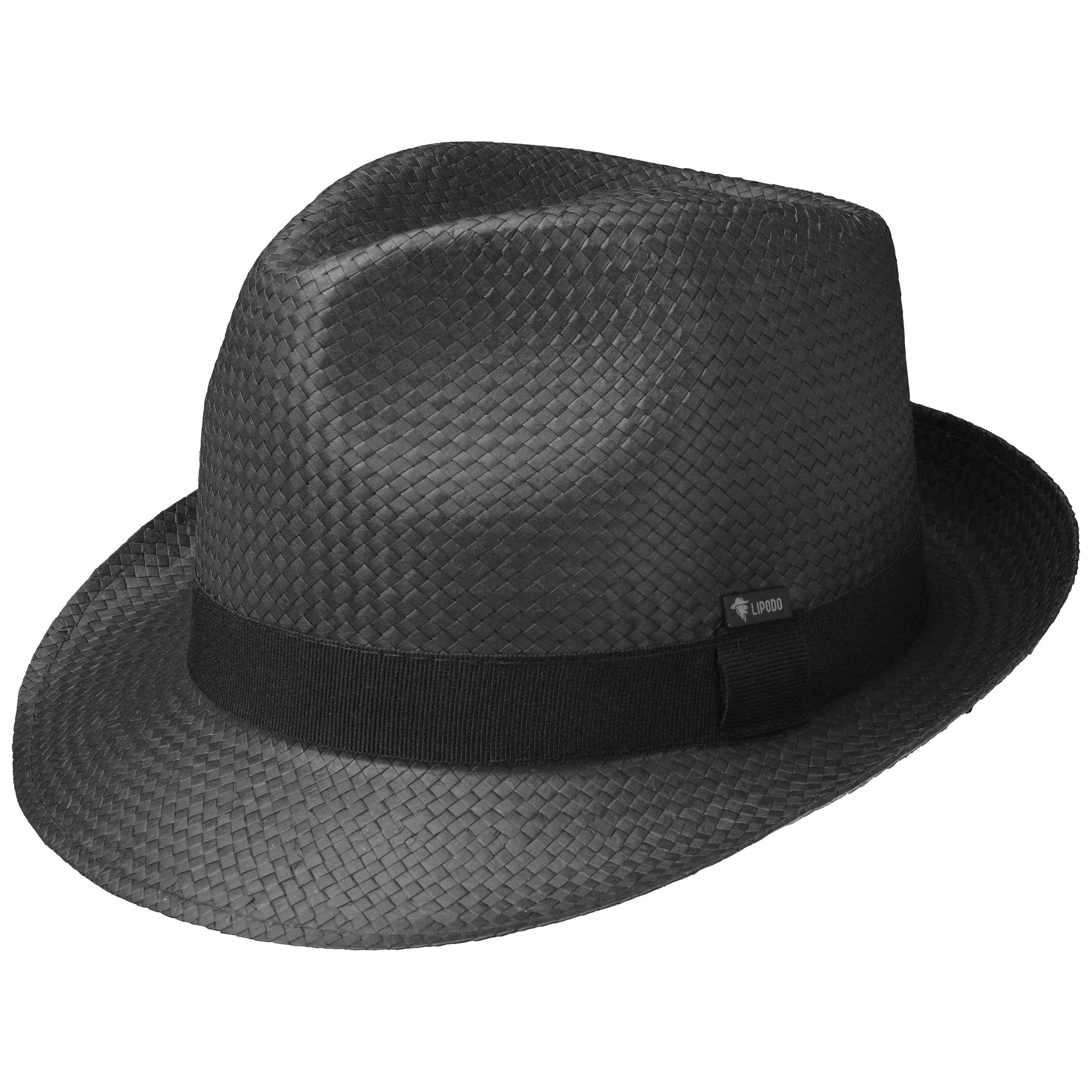 Black City Trilby Hat by Lipodo 8aad4d3fd69