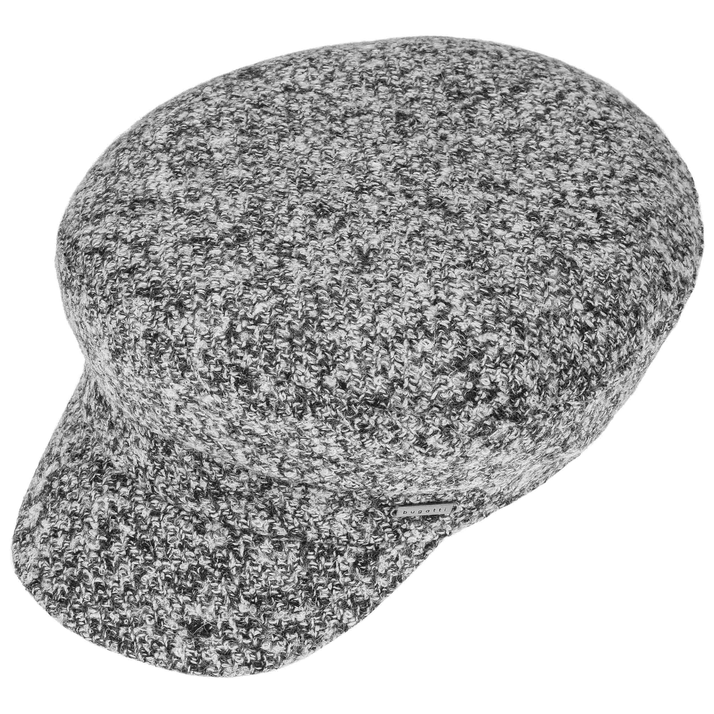 Black White Baker Boy Hat by bugatti - black-white 1 ... aaa8dd2b918