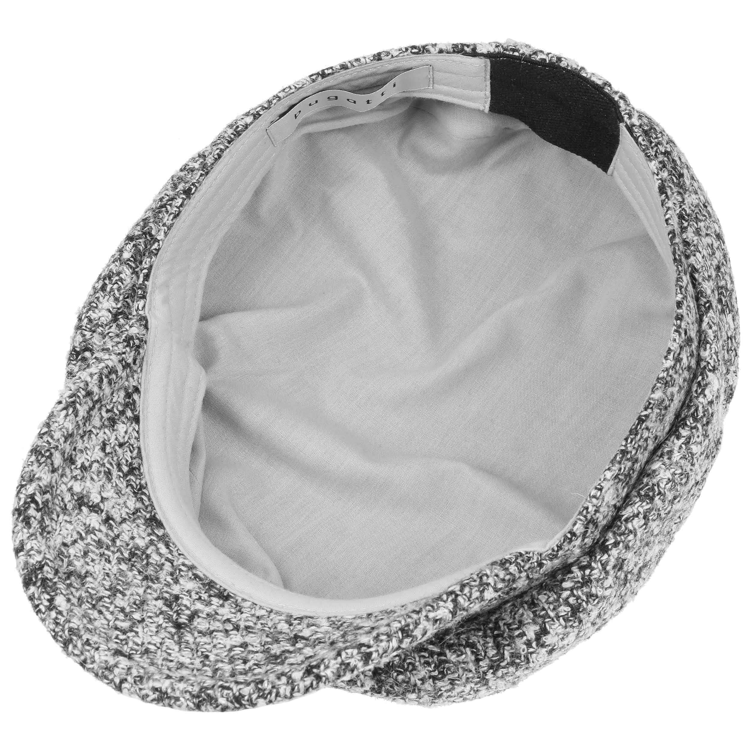 ... Black White Baker Boy Hat by bugatti - black-white 2 ... 3fe2c16235b