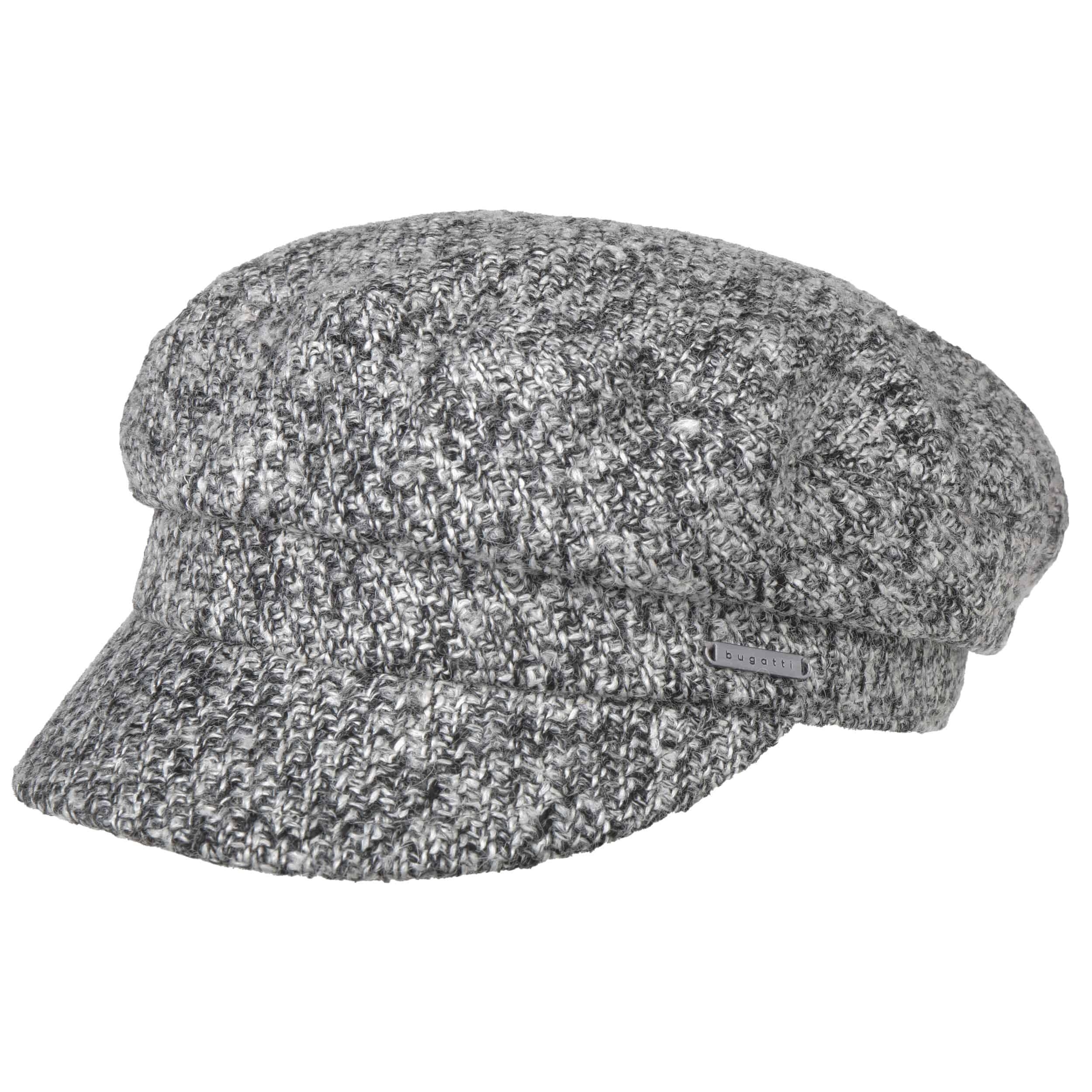 Black White Baker Boy Hat by bugatti fe8e31fcf22