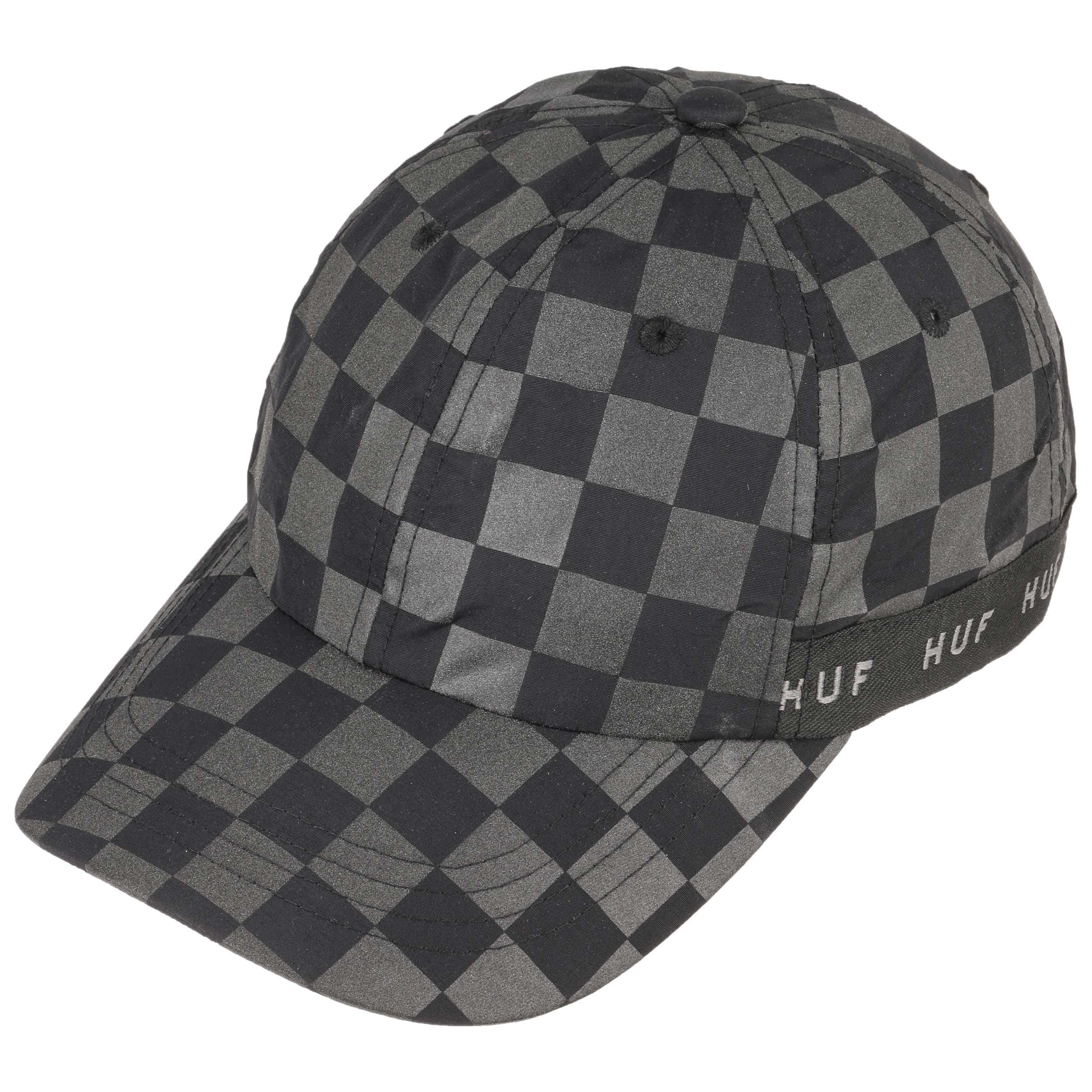 Blackout Curved Strapback Cap by HUF - black 1 ... 8611142a137