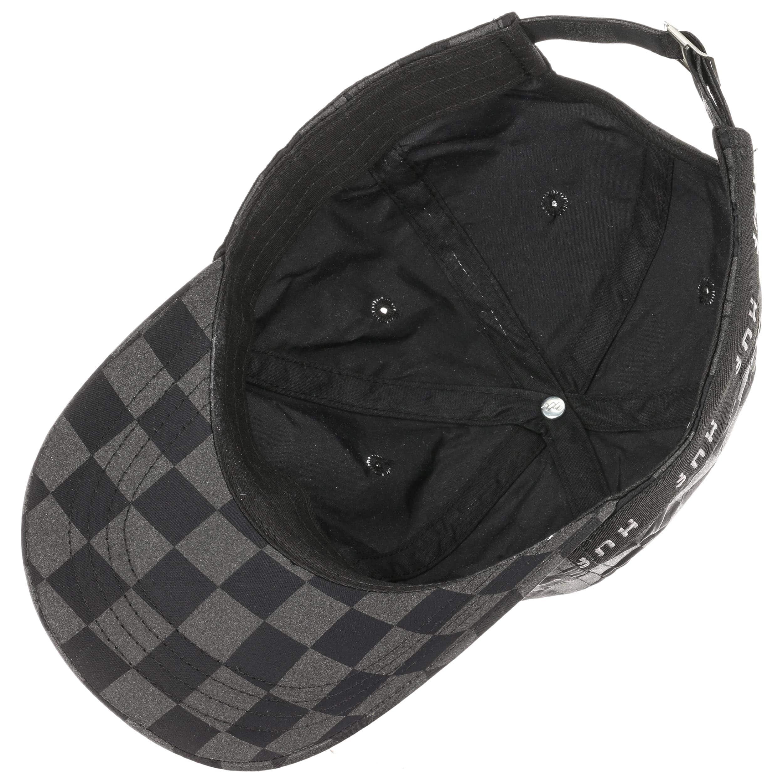 ... Blackout Curved Strapback Cap by HUF - black 2 ... 8019b3a6e8a