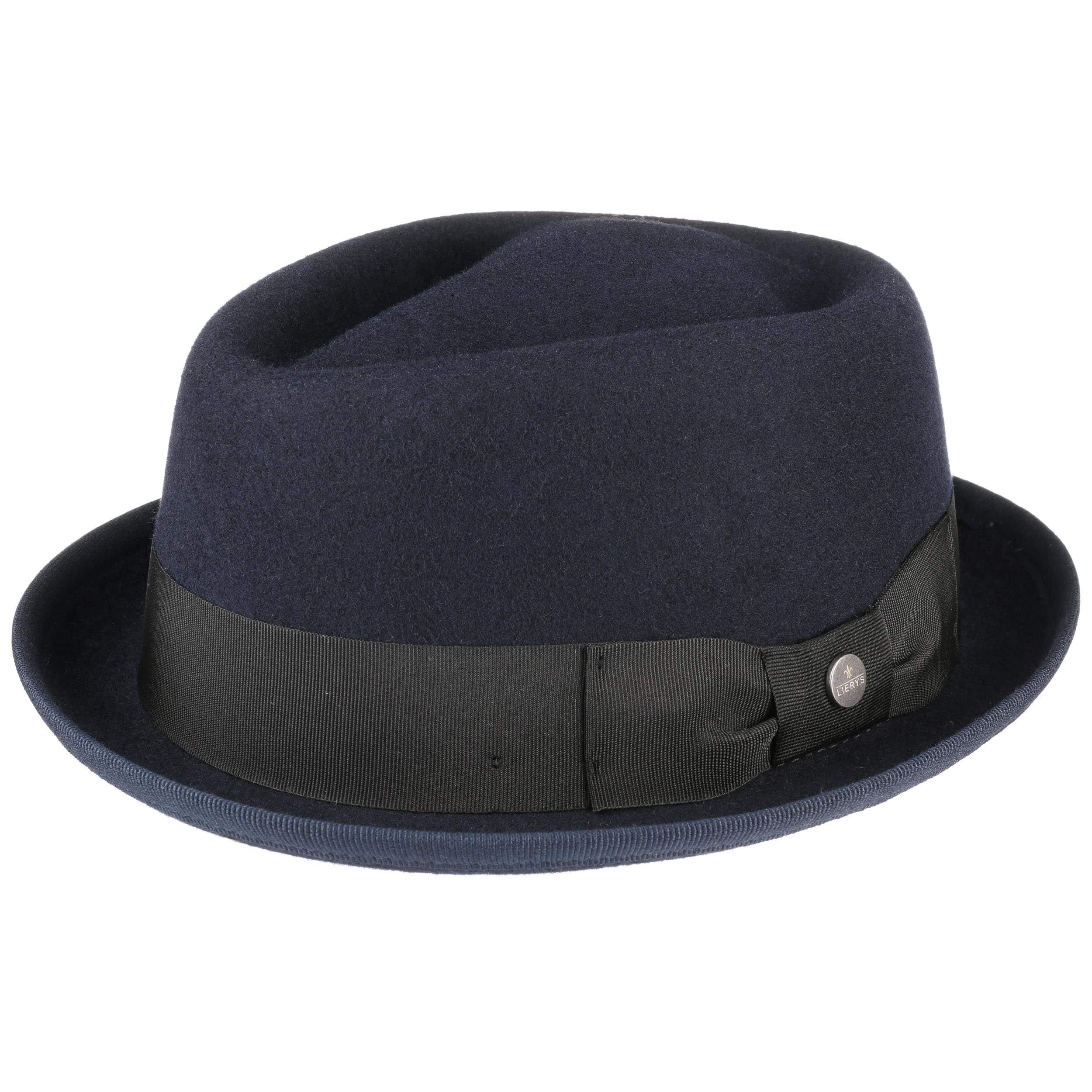 053f5371e9982 Blue Fedora Pork Pie Hat by Lierys - 64,95 £