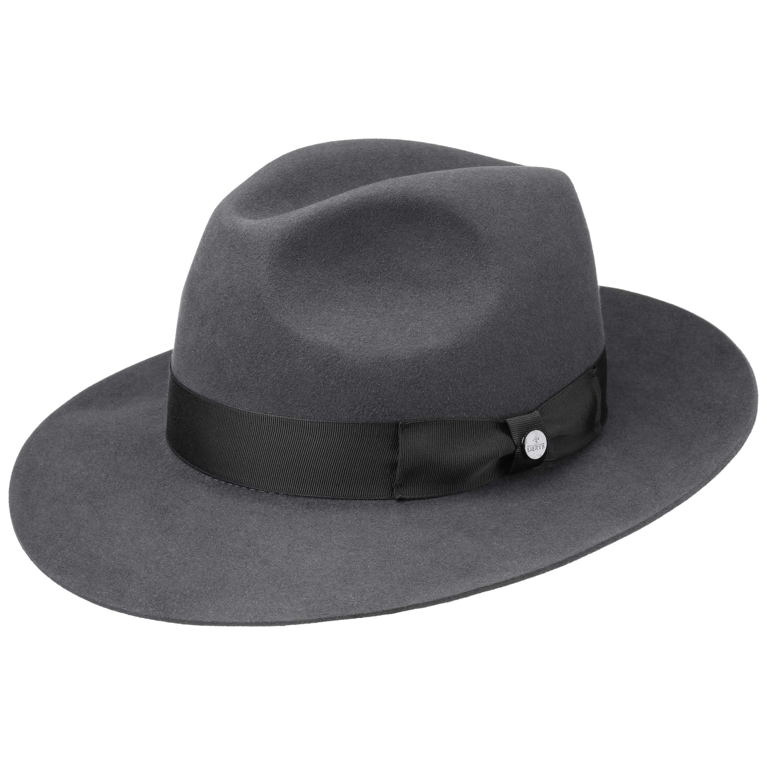 ... Bogart Hat Fur Felt by Lierys - grey 6 ... b949d1721c9