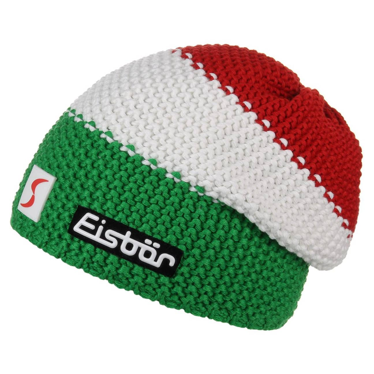 Bonnet Italie Beanie by Eisbär , vert 1