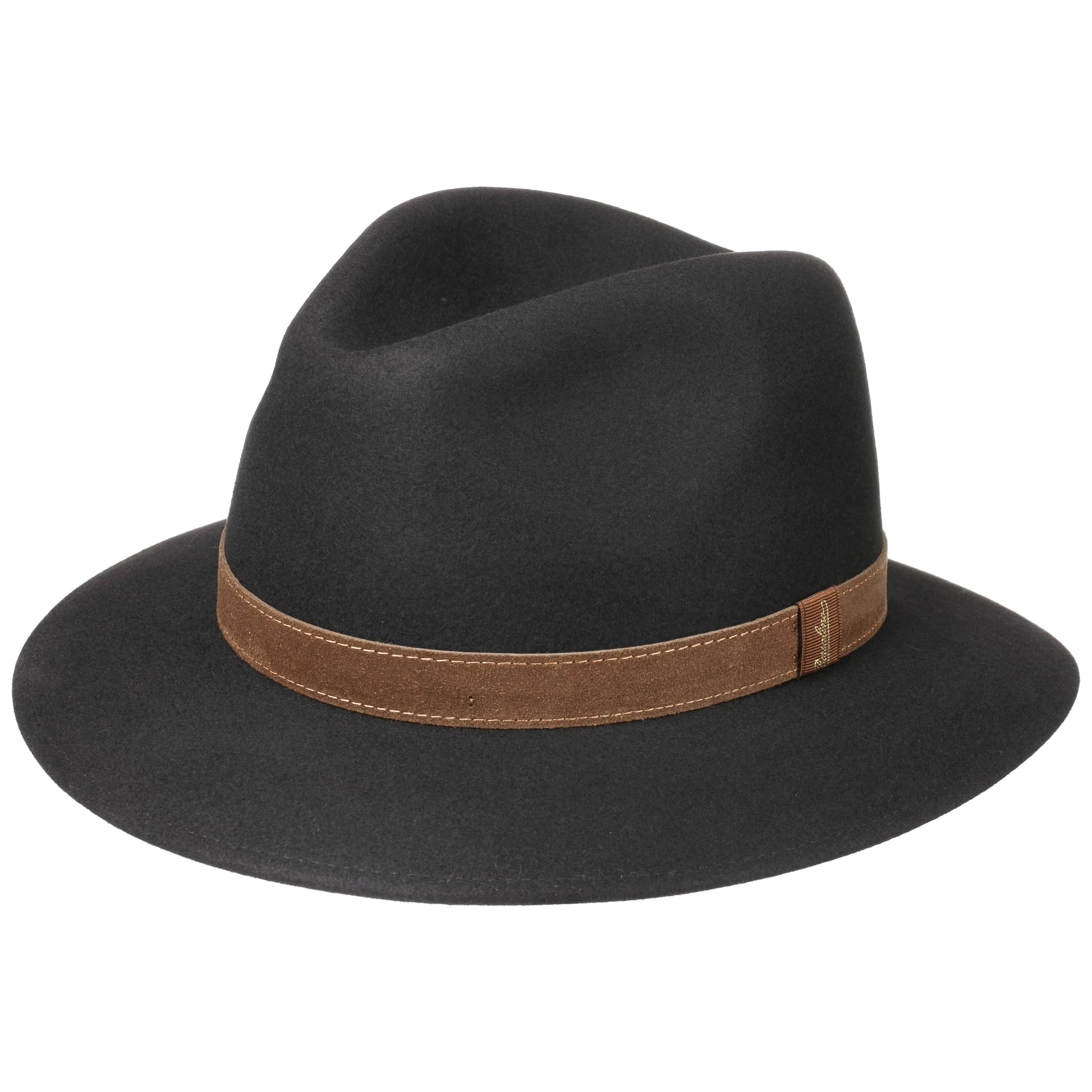 Borsalino Nero Pack Away Hut 299 00