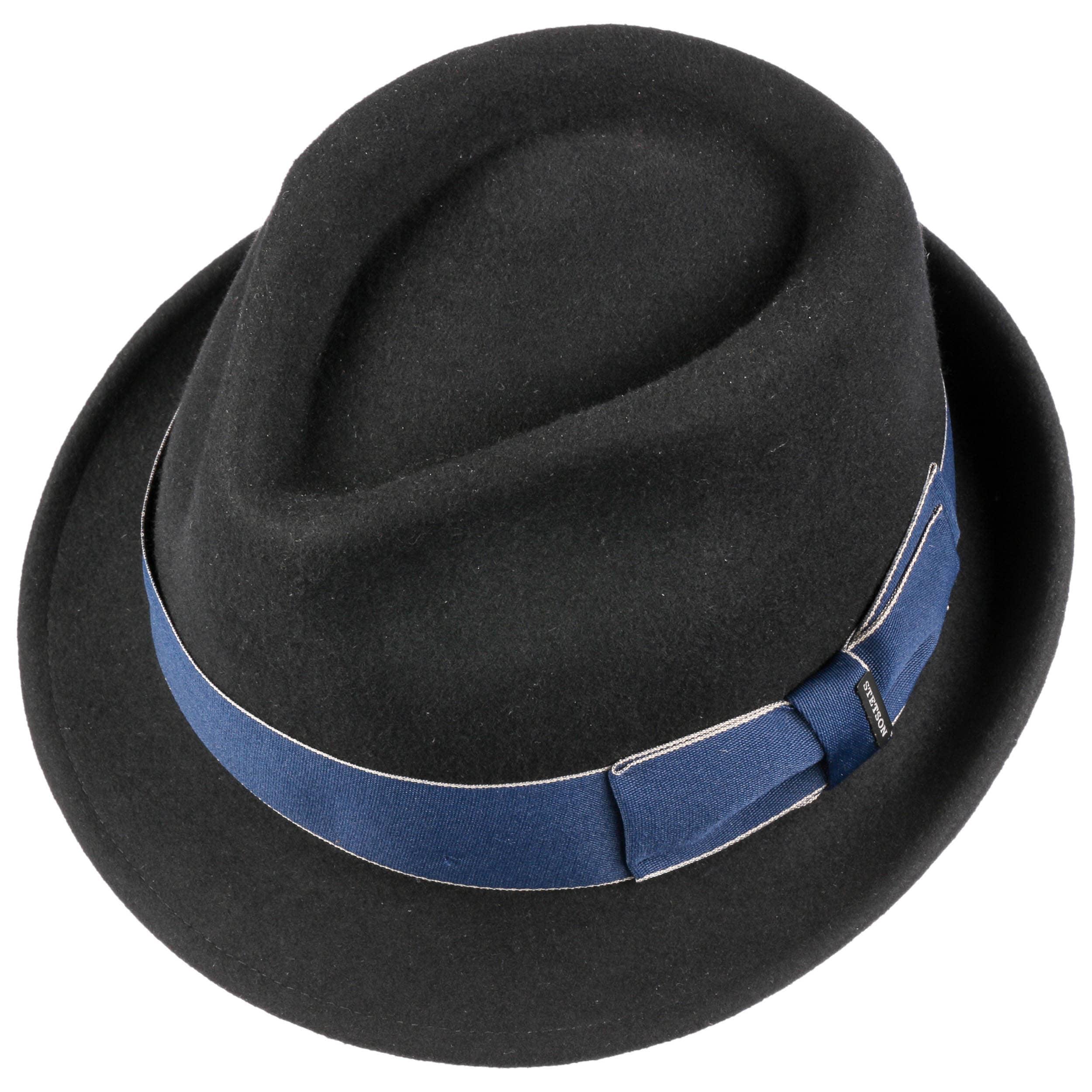 e553cd4b49b2e0 Boston Blue Ribbon Wool Felt Hat by Stetson - black 1 ...