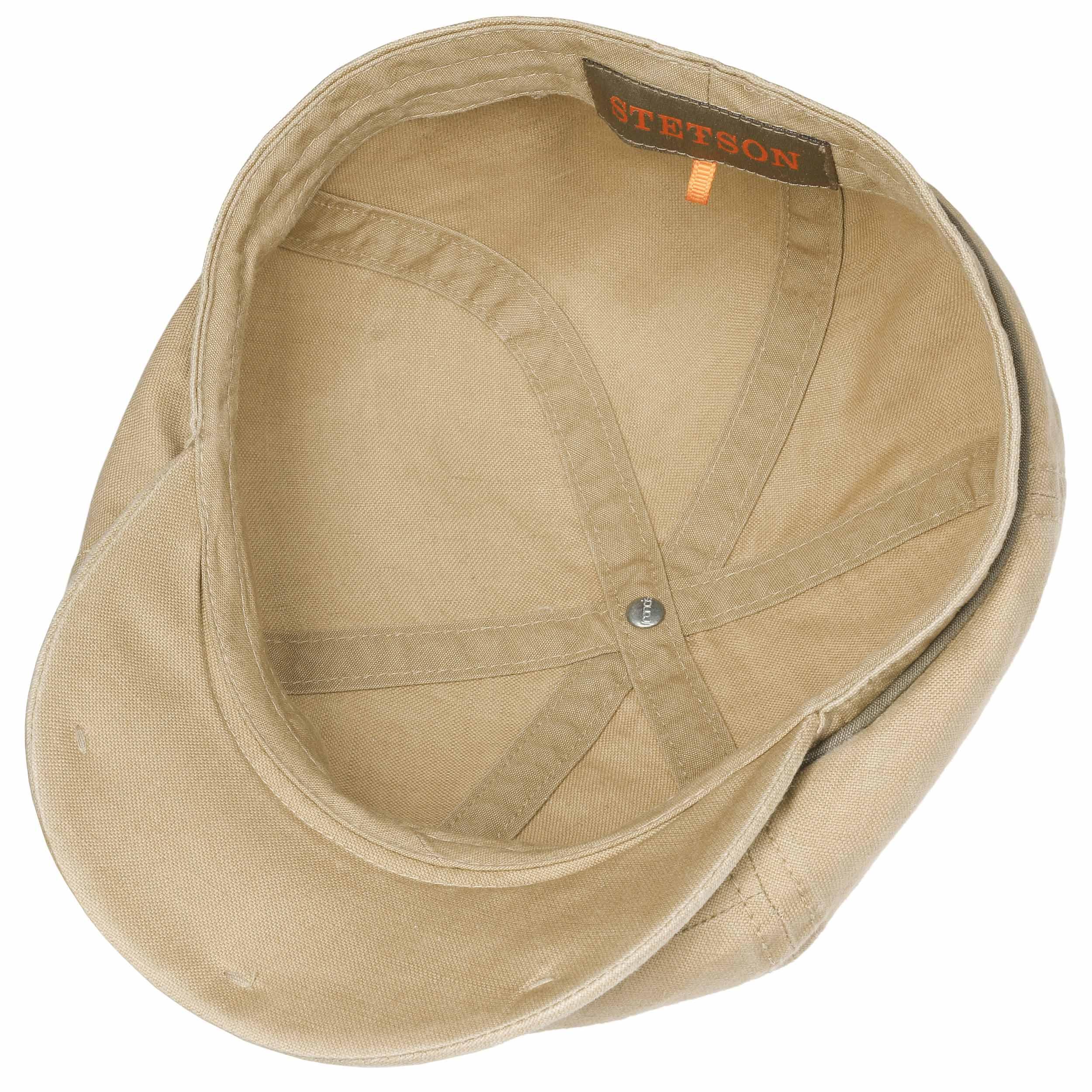 0ece2da5af0 ... Brooklin Cotton Newsboy Cap by Stetson - beige 2 ...