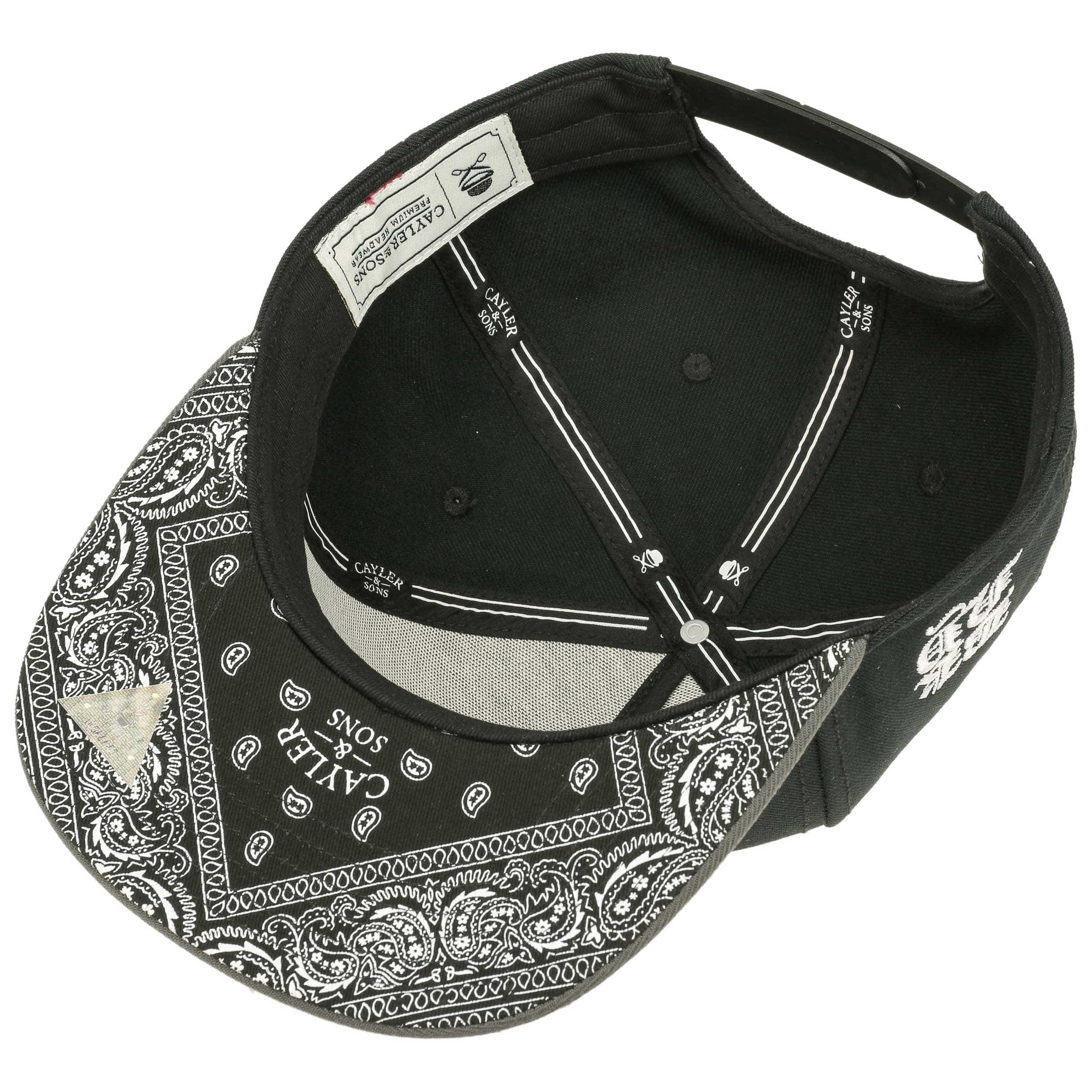 ... Broompton Snapback Cap by Cayler   Sons - black 2 ... 0363f79bd93