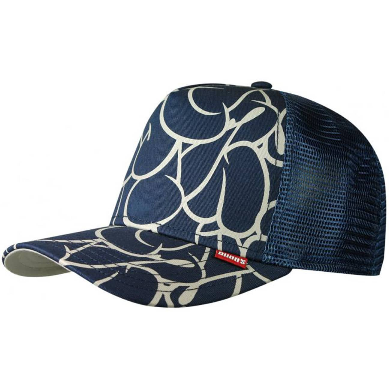 bubble high fitted trucker cap by djinns eur 21 99. Black Bedroom Furniture Sets. Home Design Ideas