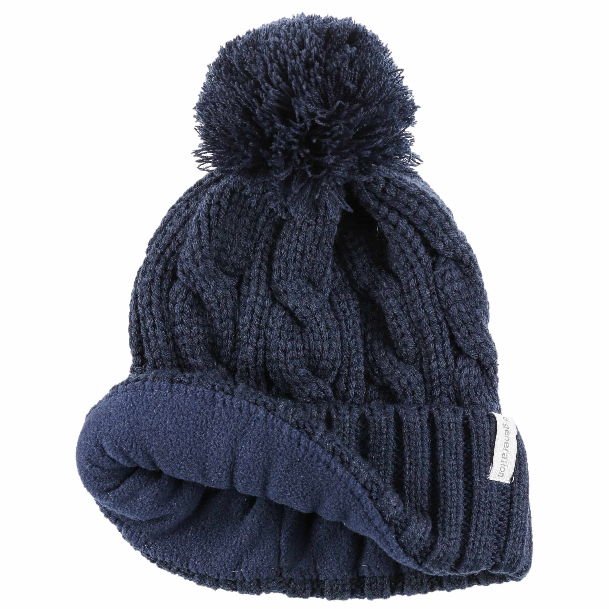 Cable Knit Pom Pom Hat By D 246 Ll Eur 19 95 Gt Hats Caps
