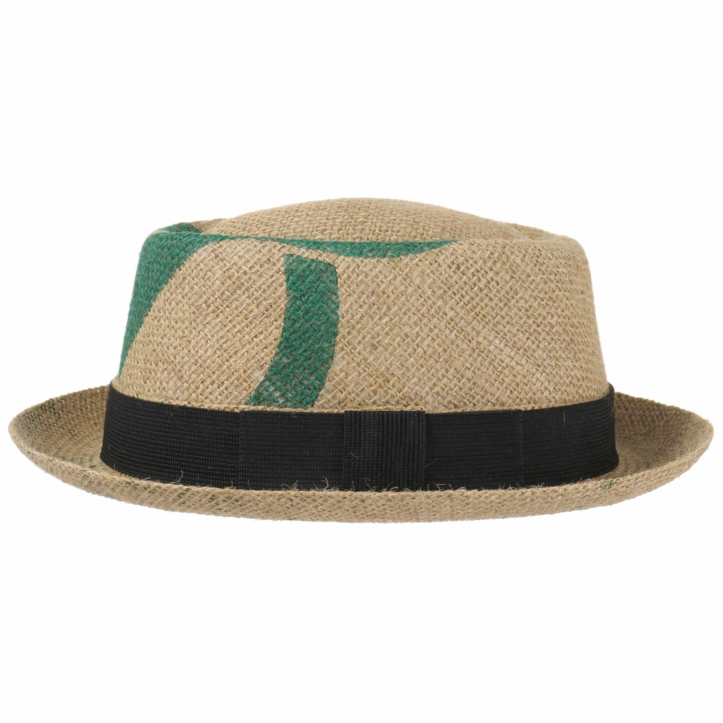 ... Café Pork Pie Hat by ReHats - nature-green 3 ... 54bbd62b1f5