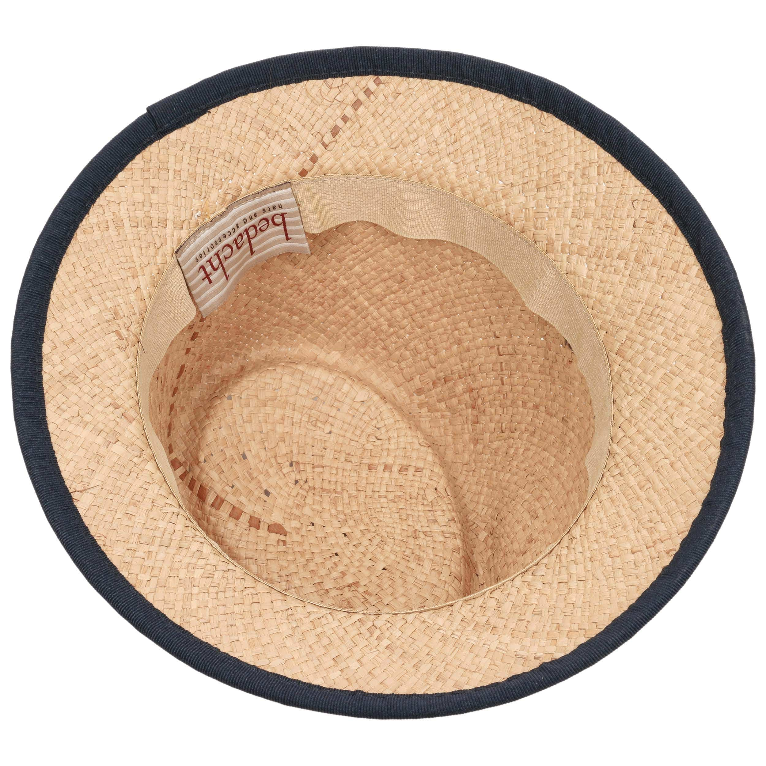5c18c25d0a1 ... Caleja Women´s Raffia Straw Hat by bedacht - nature-red 2 ...