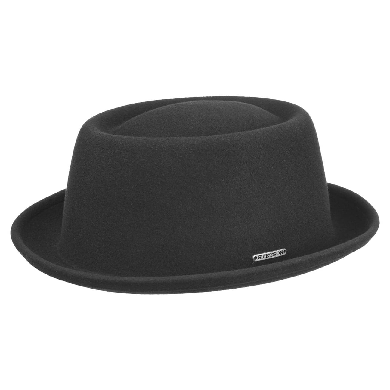 ... Cameron VitaFelt Pork Pie Hat by Stetson - black 1 15a82c7bdb9