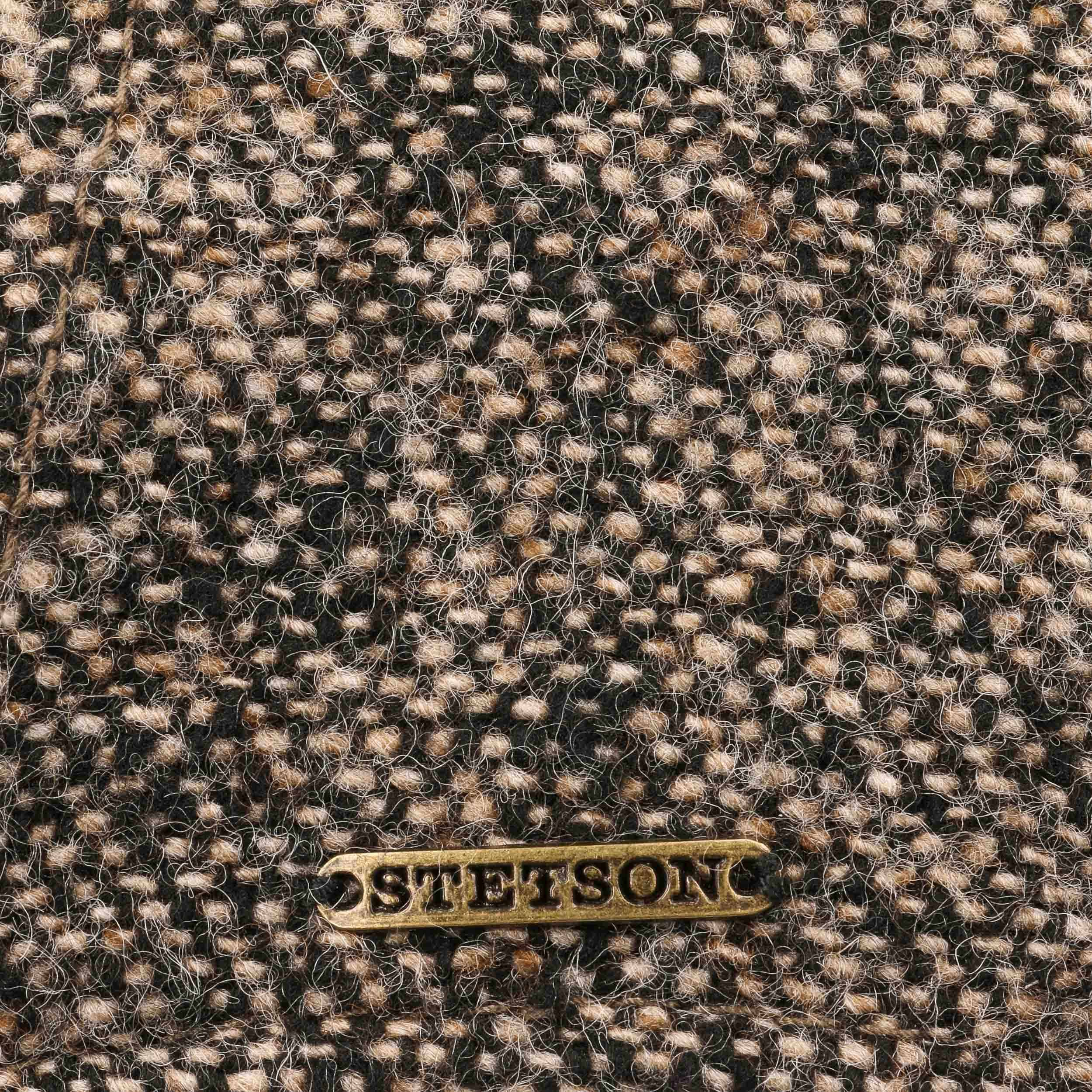 909d9d288f2 ... Campbell Virgin Wool Cap by Stetson - brown 3 ...