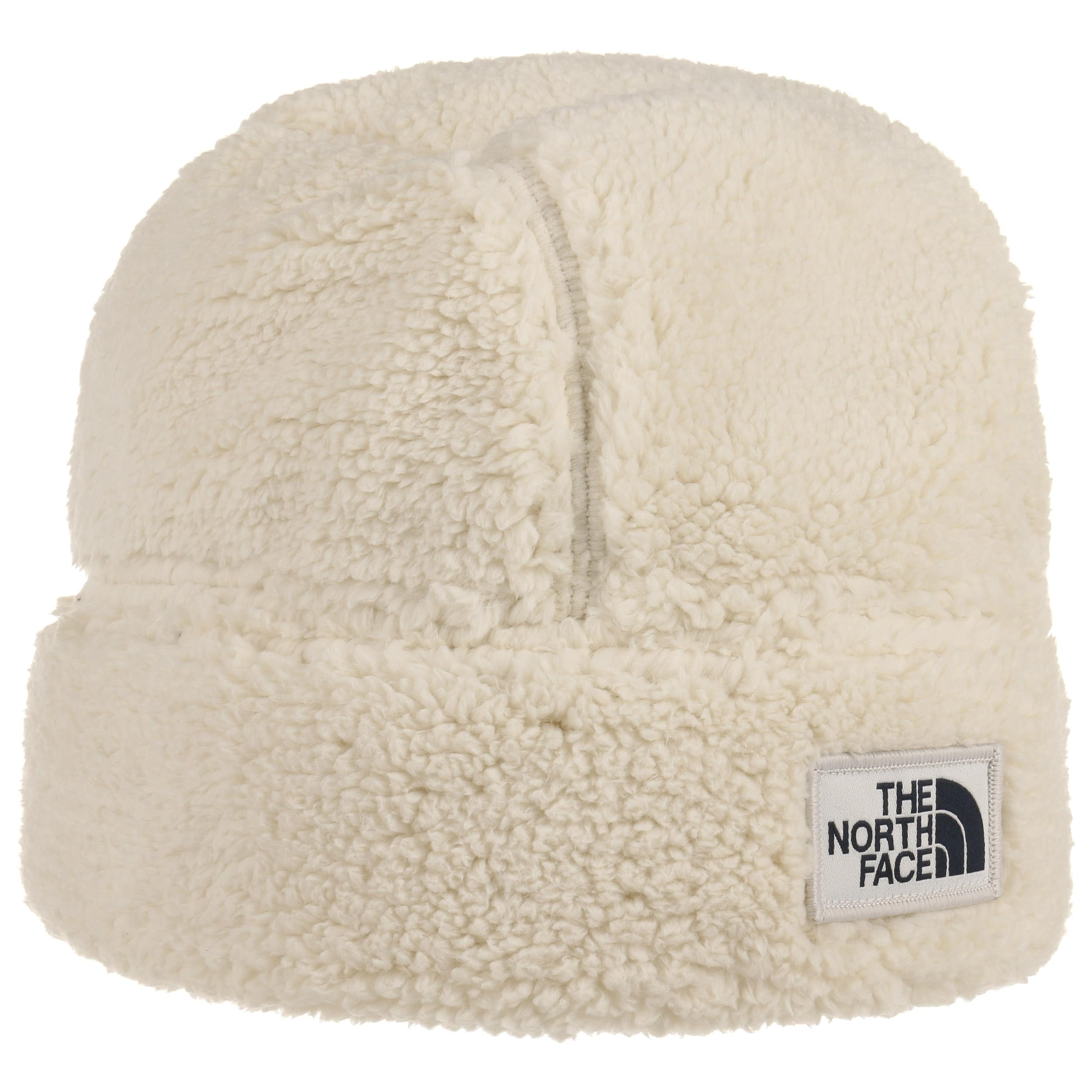 53f9244b611 ... Campshire Fleece Beanie Hat by The North Face - cream white 4 ...