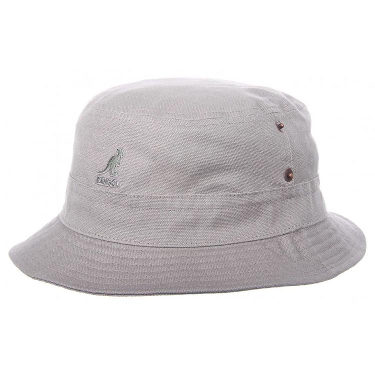 Canvas Lahinch Bucket Hat by Kangol - khaki 1 ... 9604063363c