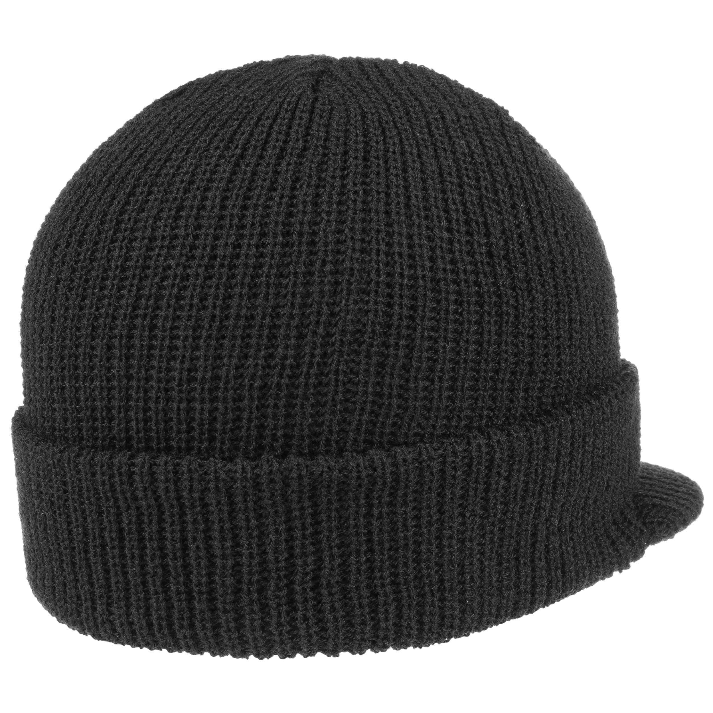 ... Cap Styler Peaked Beanie - black 2 ... 69daa771569