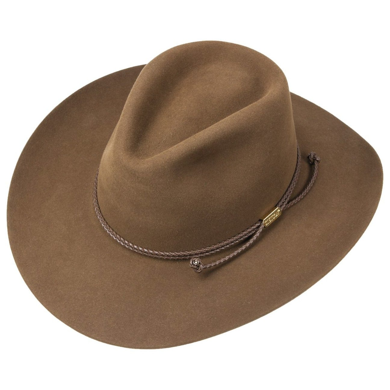 2253ef339392f Carson Outdoor Cowboy Hat by Stetson - brown 2 ...