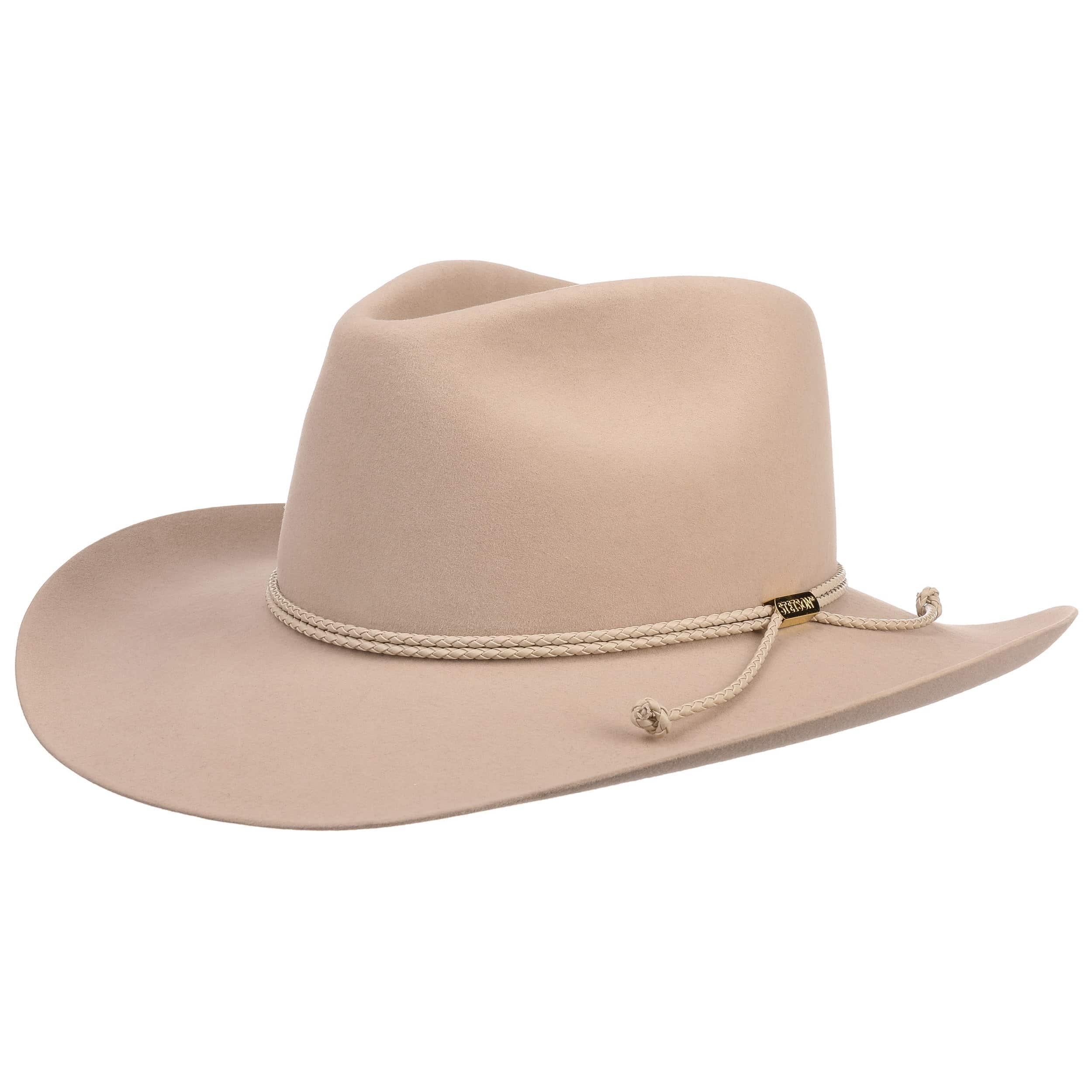 698f756a51ac2 ... Carson Outdoor Cowboy Hat by Stetson - oatmeal 5