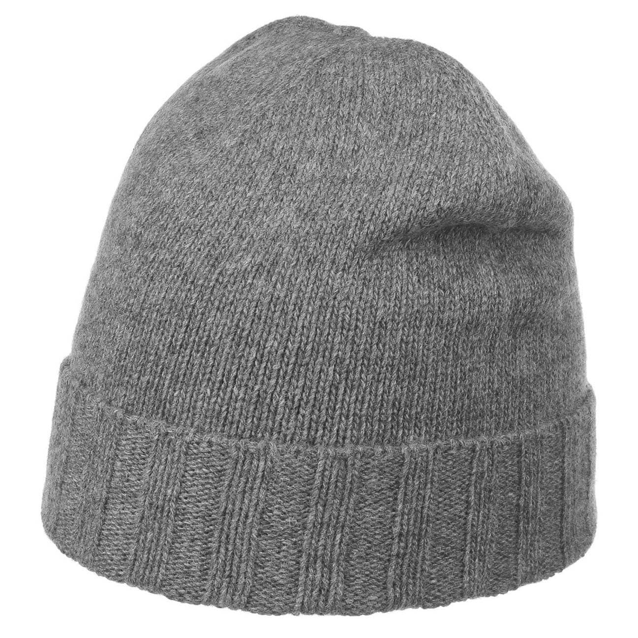 ... Cashmere Wool Blend Beanie by Lierys - grey 1 ... 3d1c5285d83