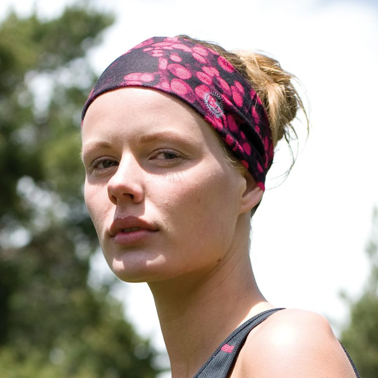 buy good beauty newest collection Cell Pink High UV Headband by BUFF