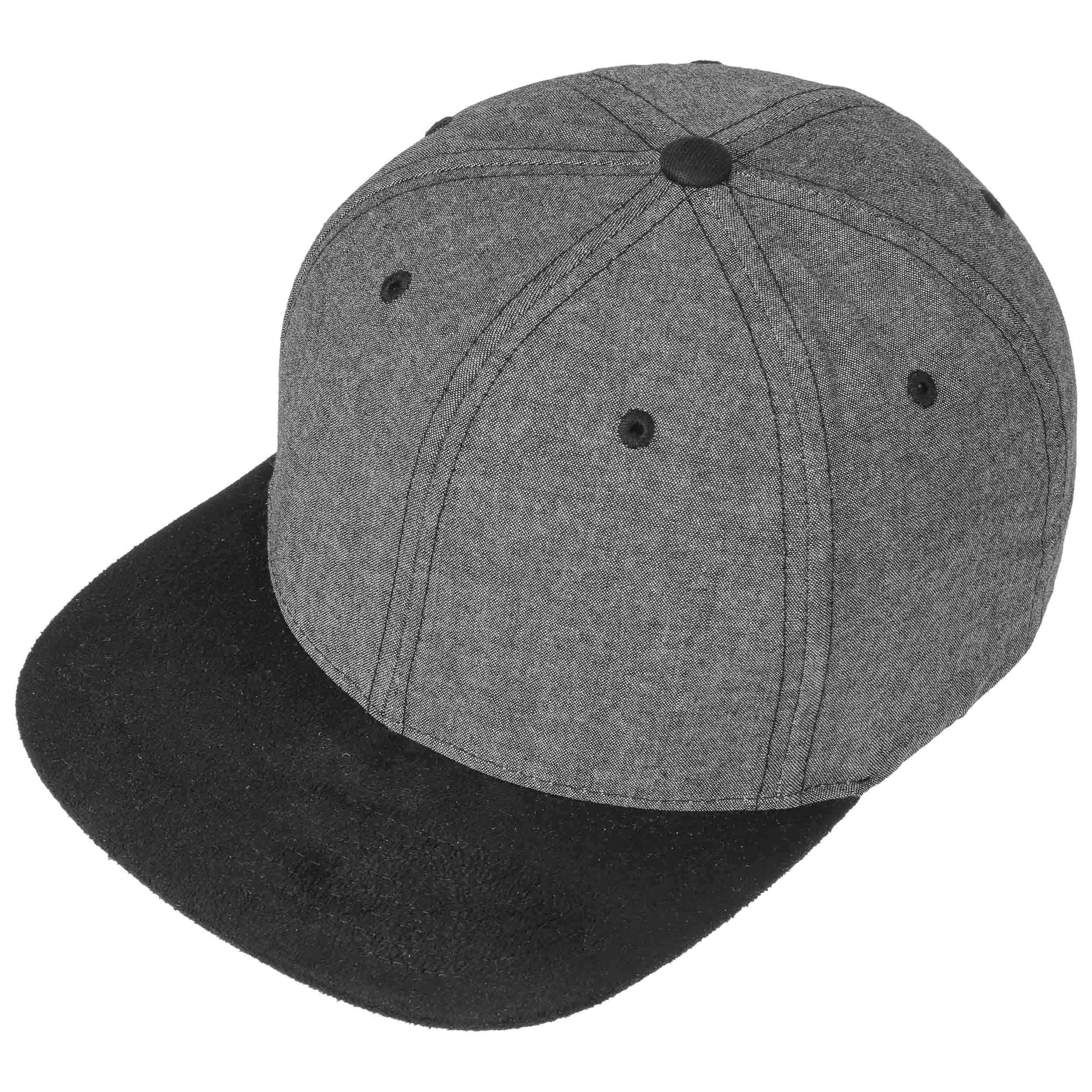 Chambray Suede Snapback Cap - black 1 · Chambray Suede Snapback Cap - light  blue ... cc0d8ce175d4