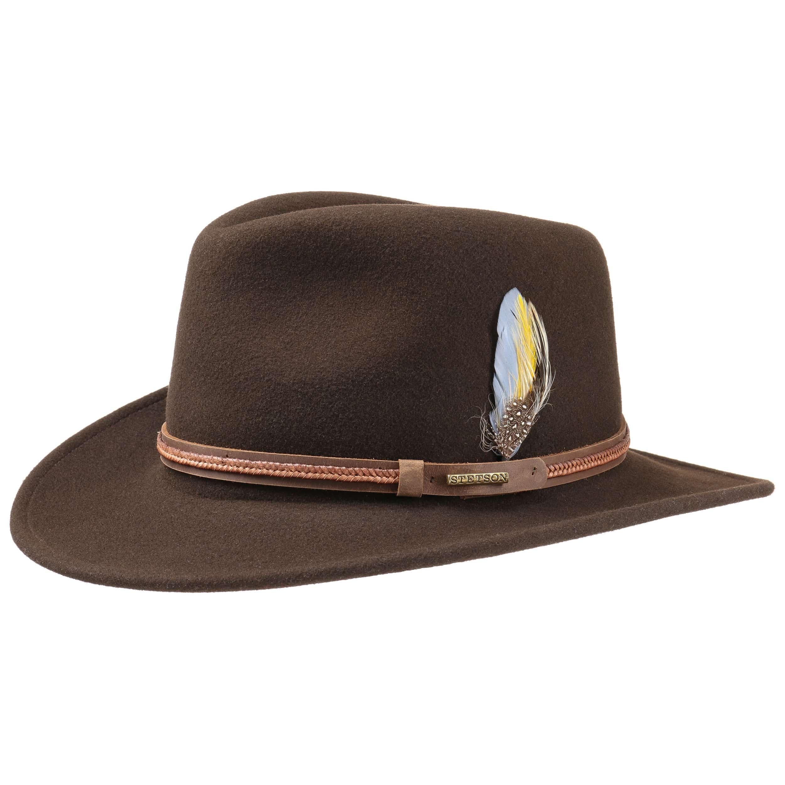 7f30064b ... Chatham VitaFelt Hat by Stetson - brown 4 ...