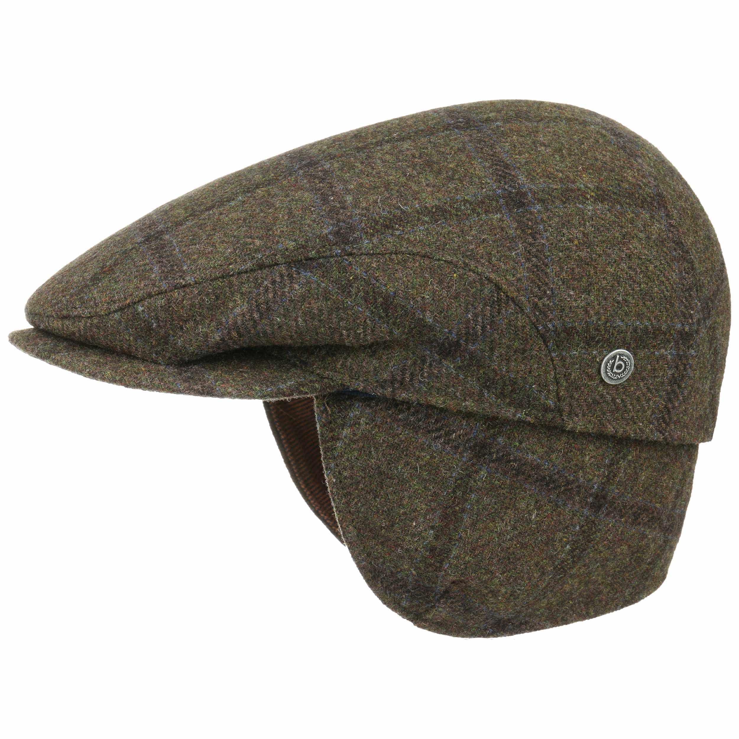 a45eb8b92 Check Flat Cap with Earflaps by bugatti